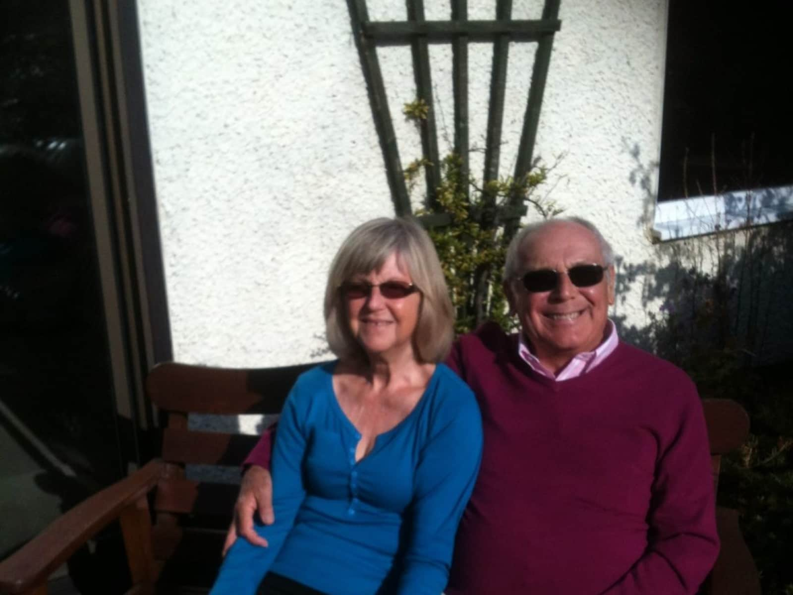 Sally & Richard from Elmstead Market, United Kingdom