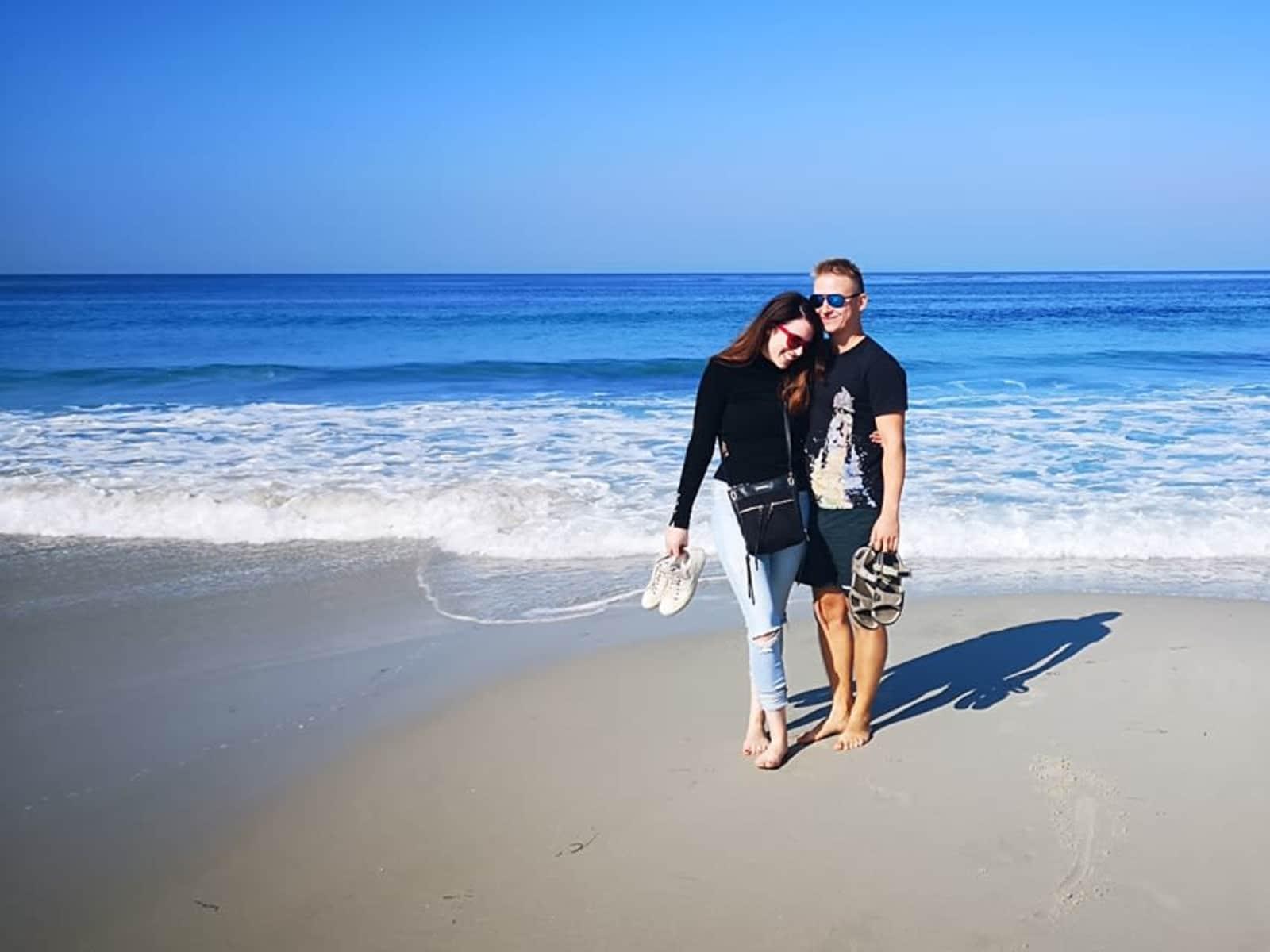 Sarah-jayne & Patrik from Treuddyn, United Kingdom