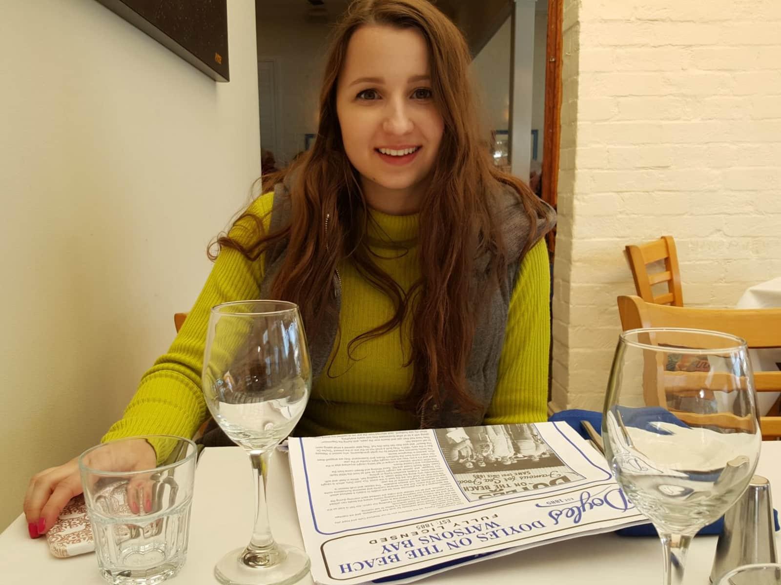 Katarzyna from Warsaw, Poland