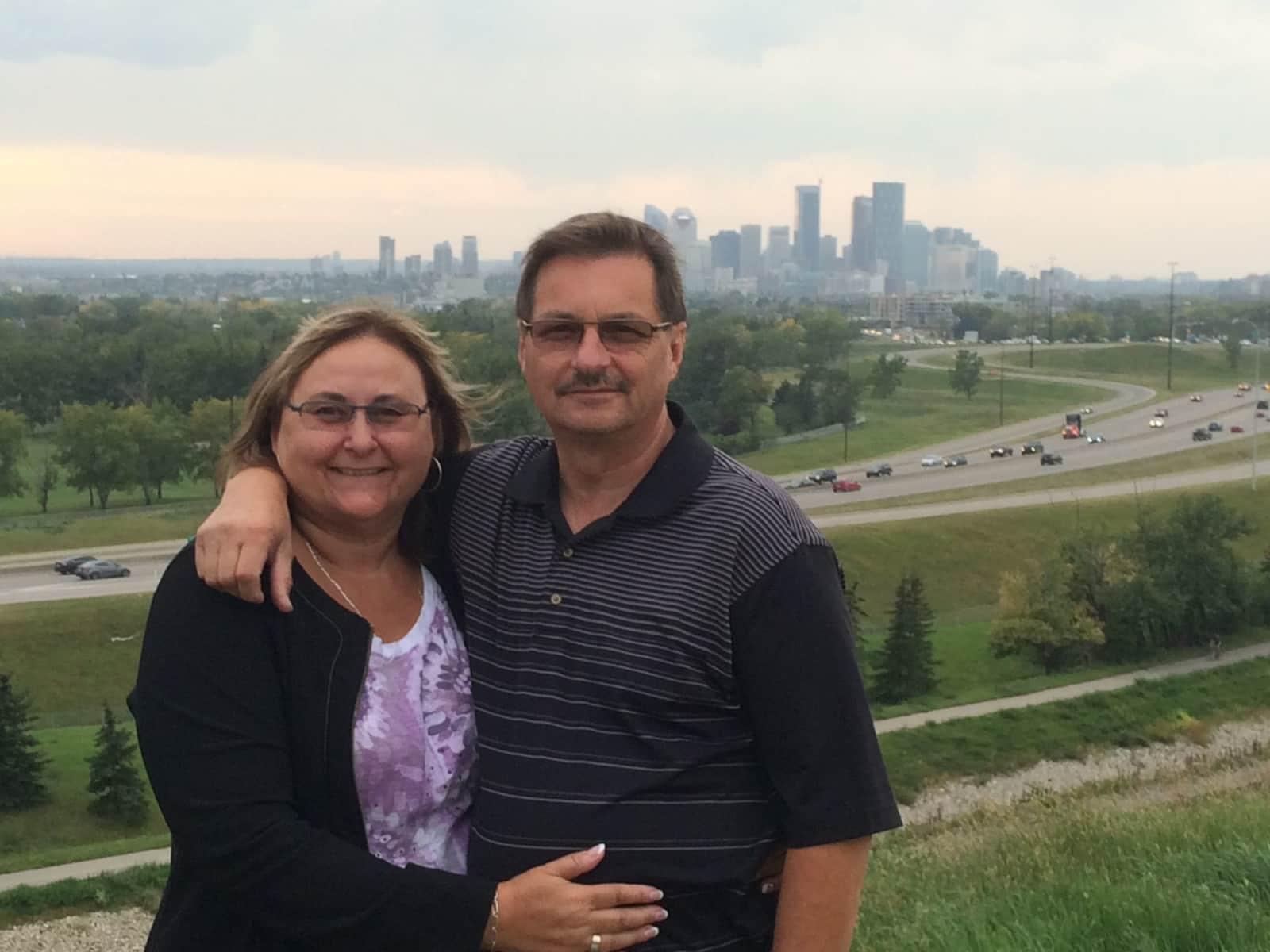 Deborah & Richard from Winnipeg, Manitoba, Canada