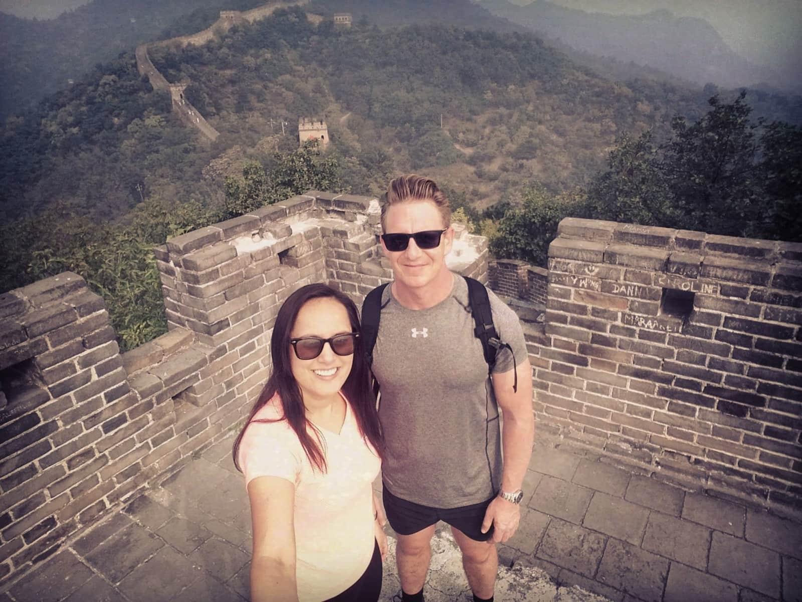 Kimberley & Robert from Beijing, China