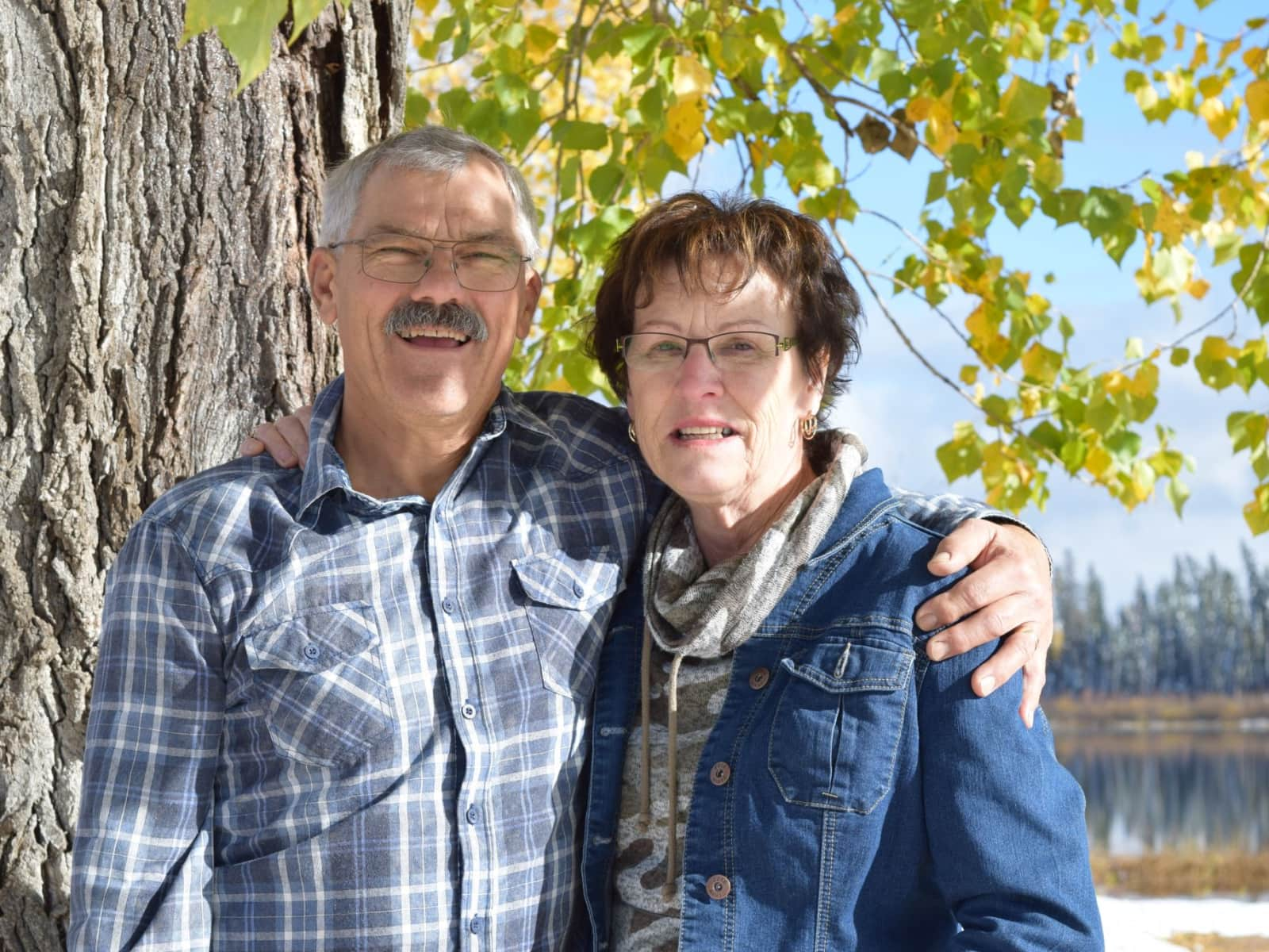Ed & Cyndi from Hudson Bay, Saskatchewan, Canada