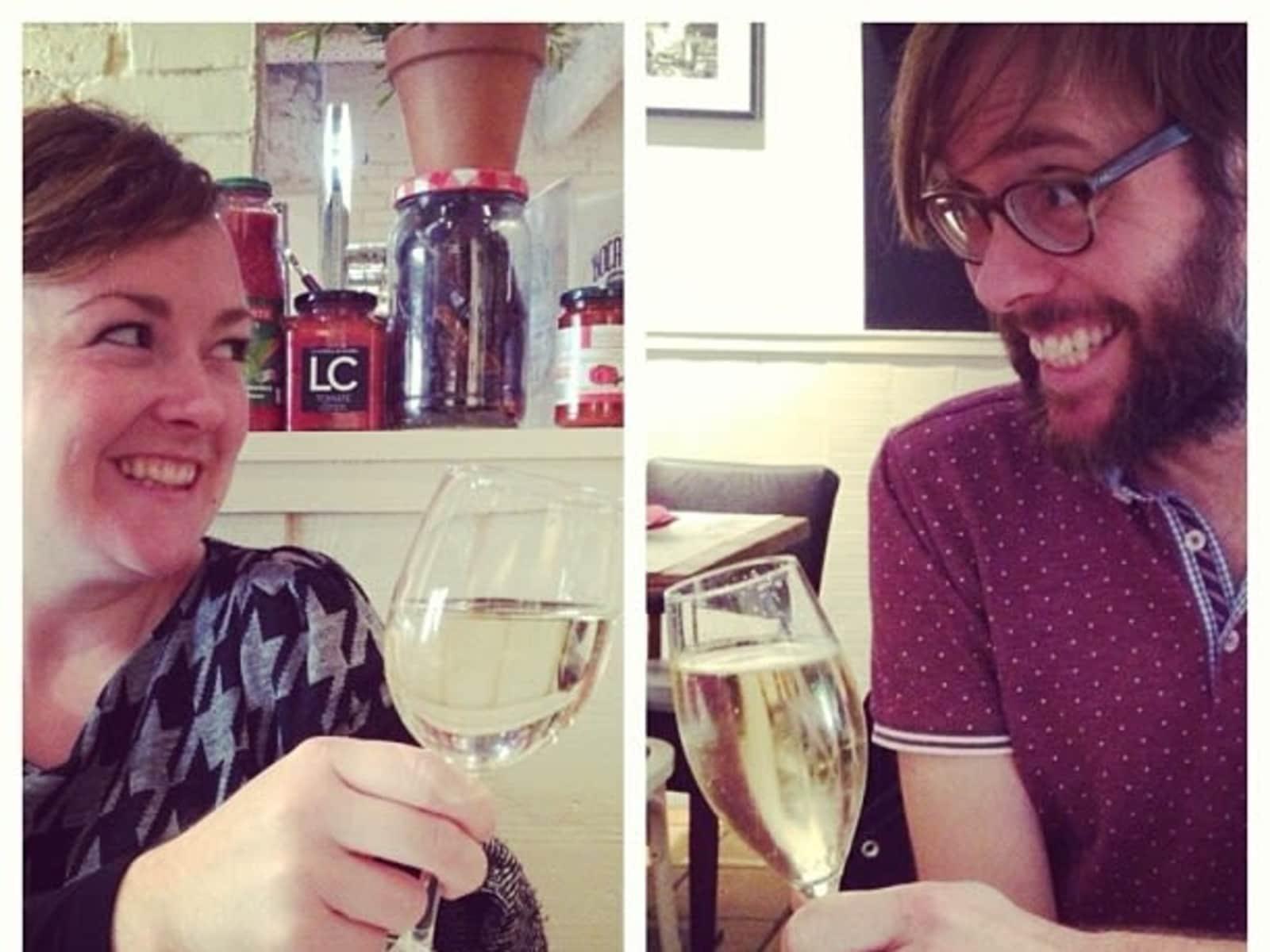 Rebecca & Anders from Bristol, United Kingdom