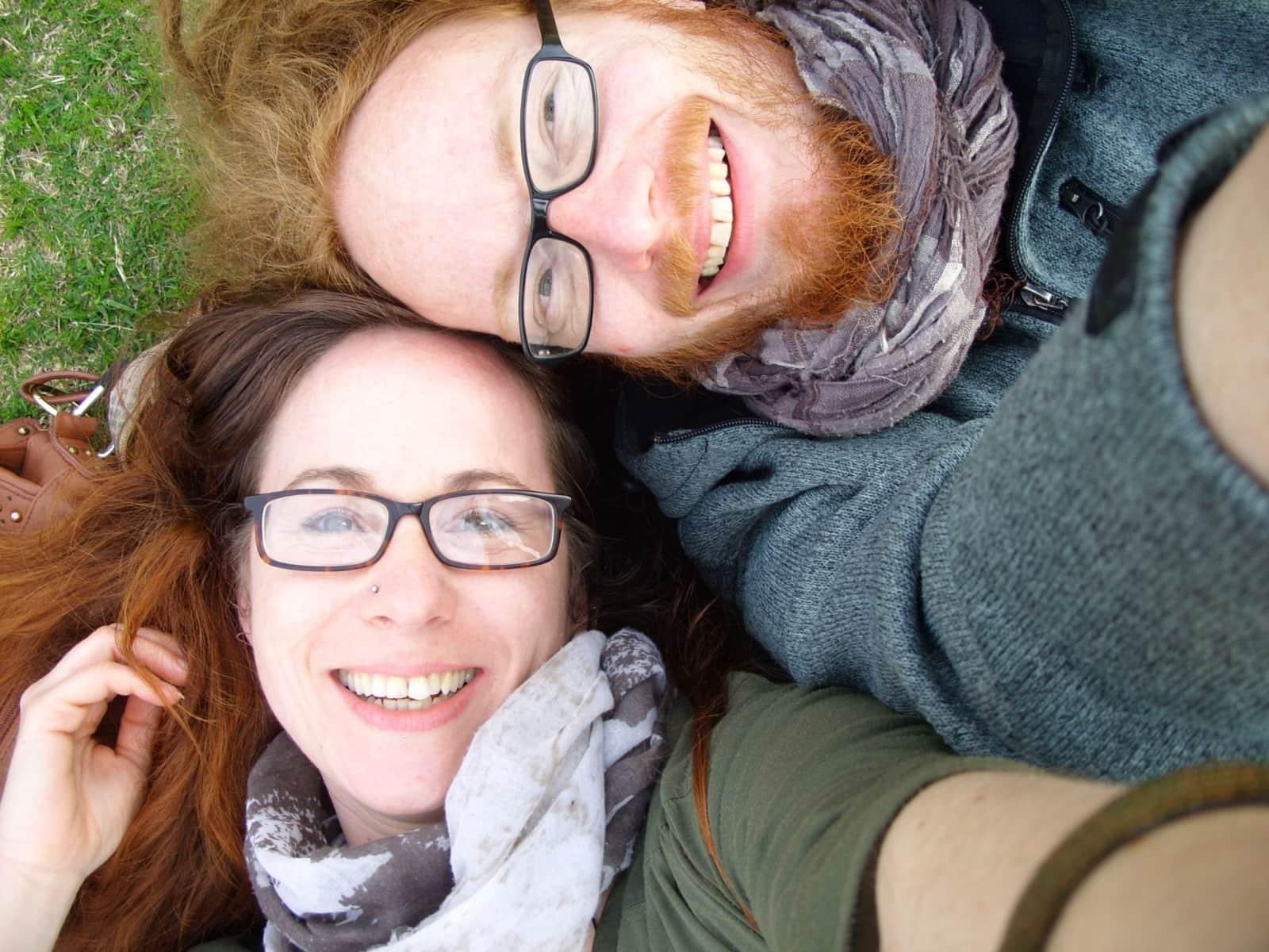 Irmela & Oliver from Newcastle upon Tyne, United Kingdom