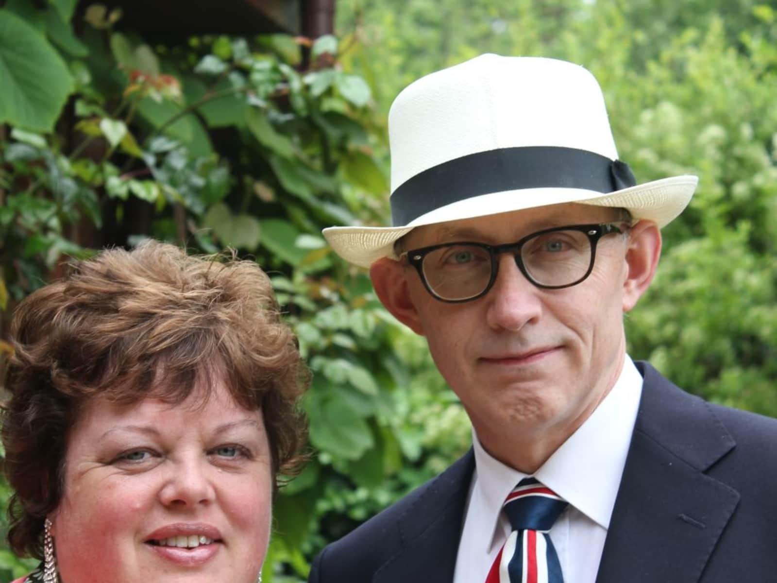 Carolyn & Donald from Swindon, United Kingdom