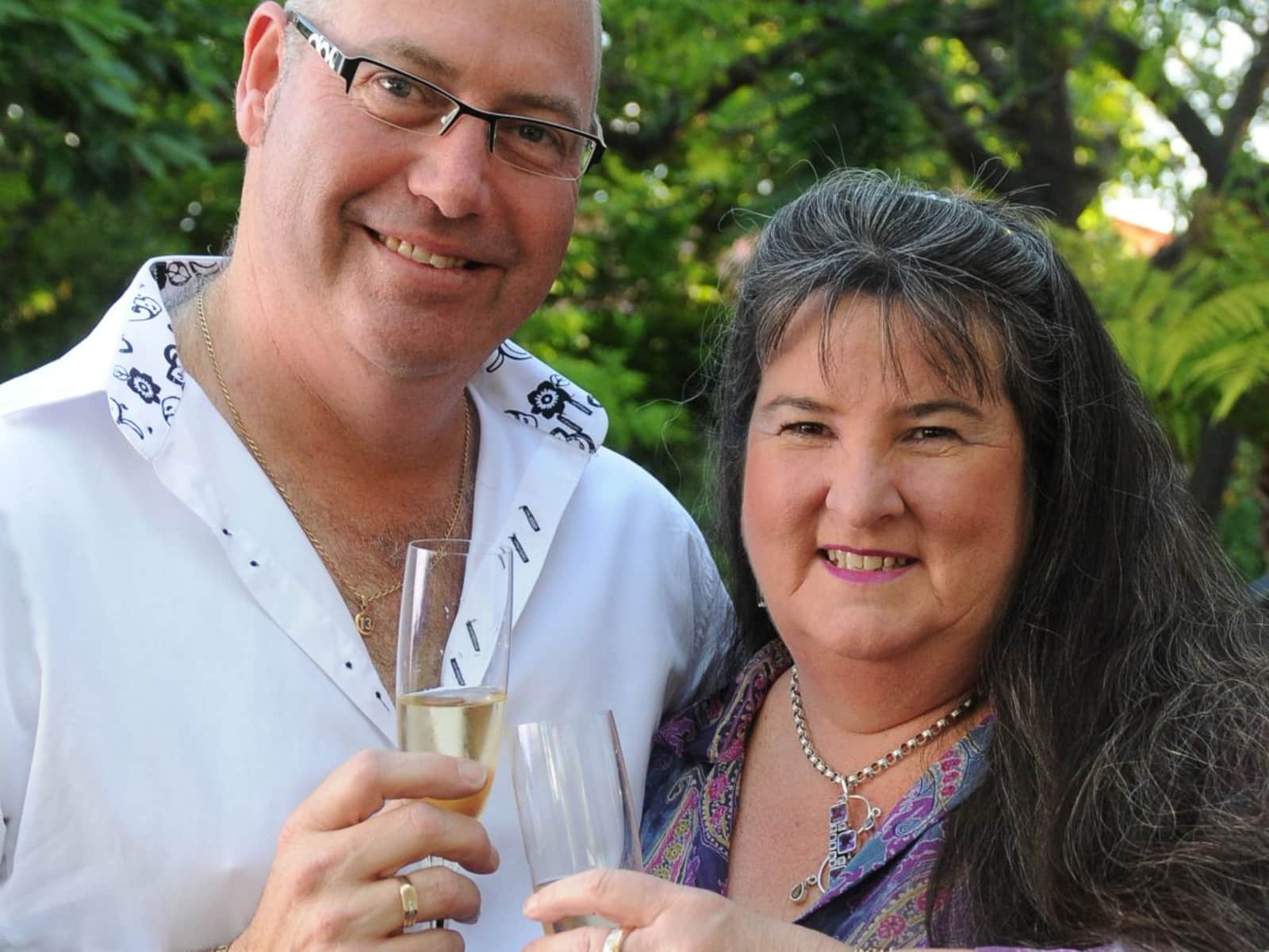 Sandy & Peter from Tamworth, New South Wales, Australia