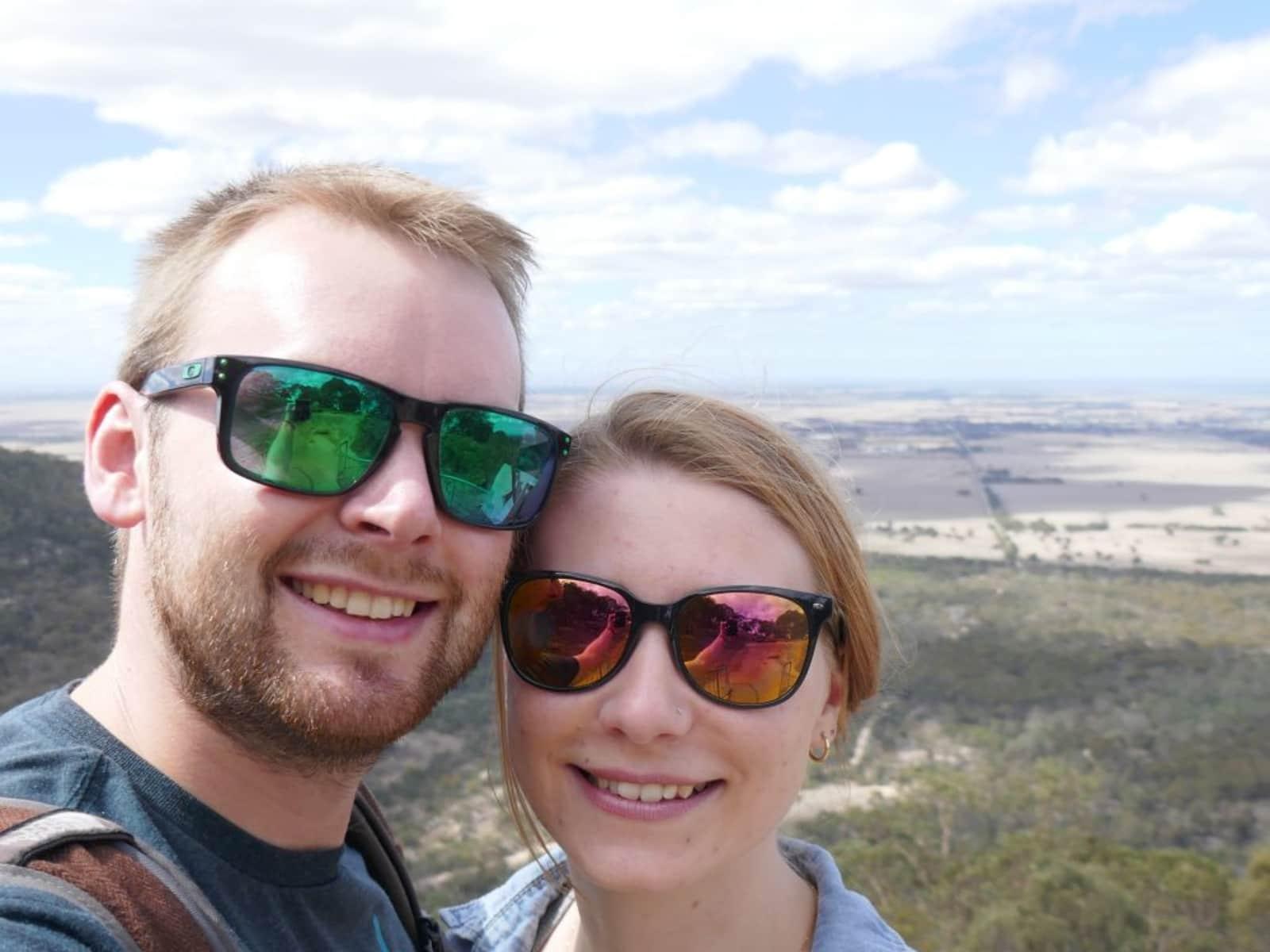 Mariann & Phil from Melbourne, Victoria, Australia