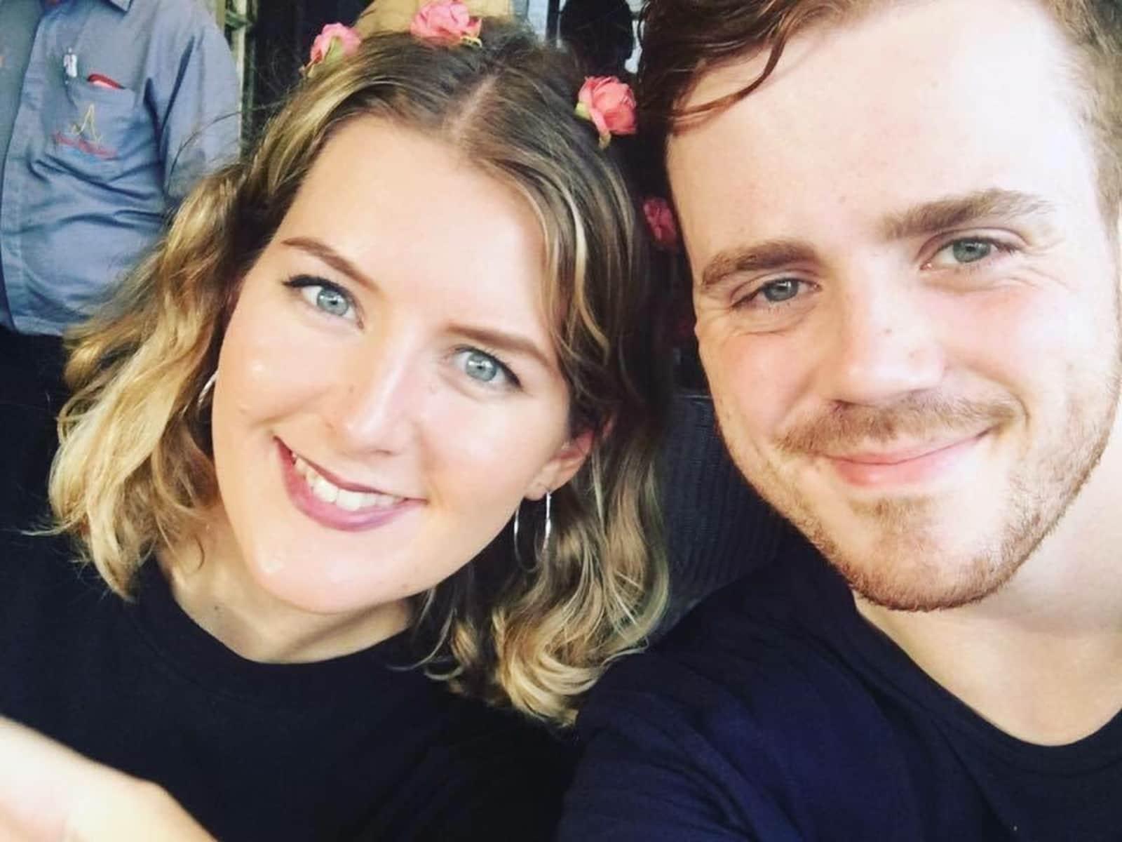 Joe & Rachel from London, United Kingdom