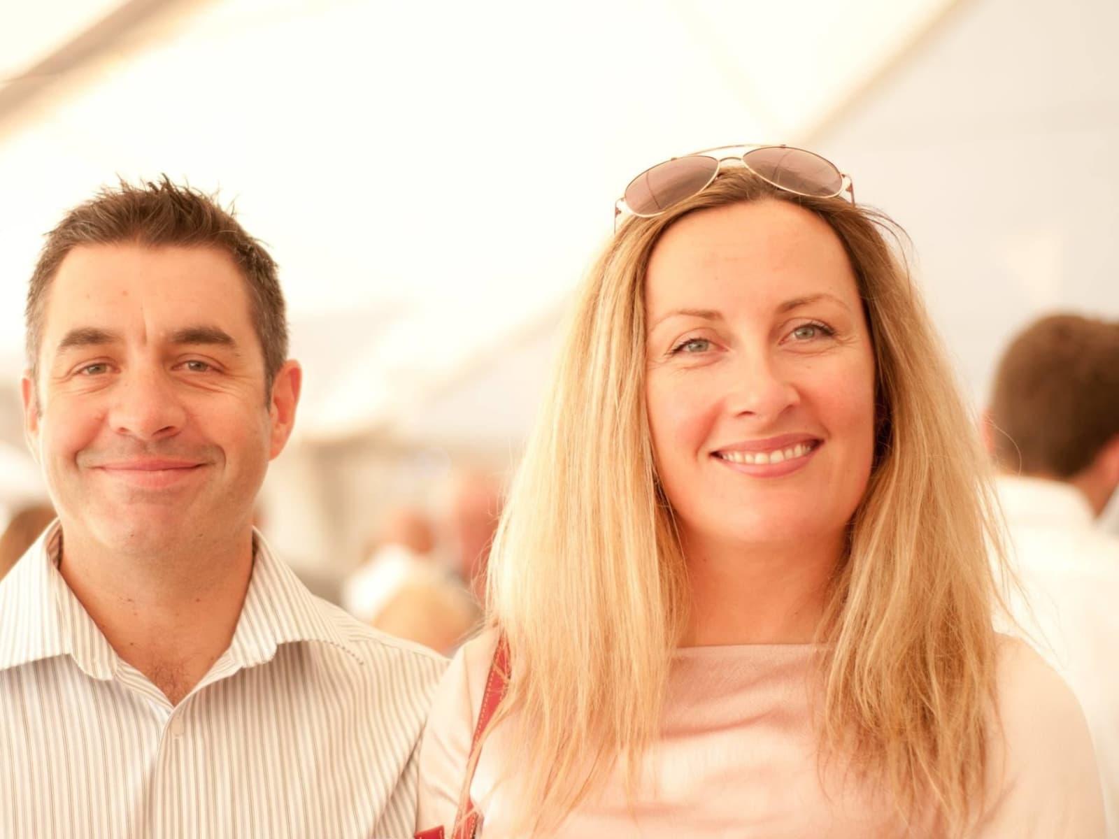 Catherine & Nigel from Truro, United Kingdom