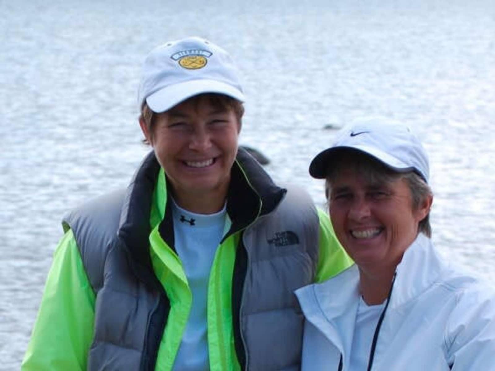 Katherine & Sue from Magnetawan, Ontario, Canada