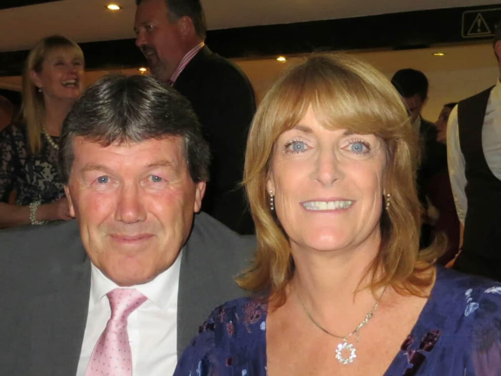 Graham & Sallyanne from Thornhaugh, United Kingdom