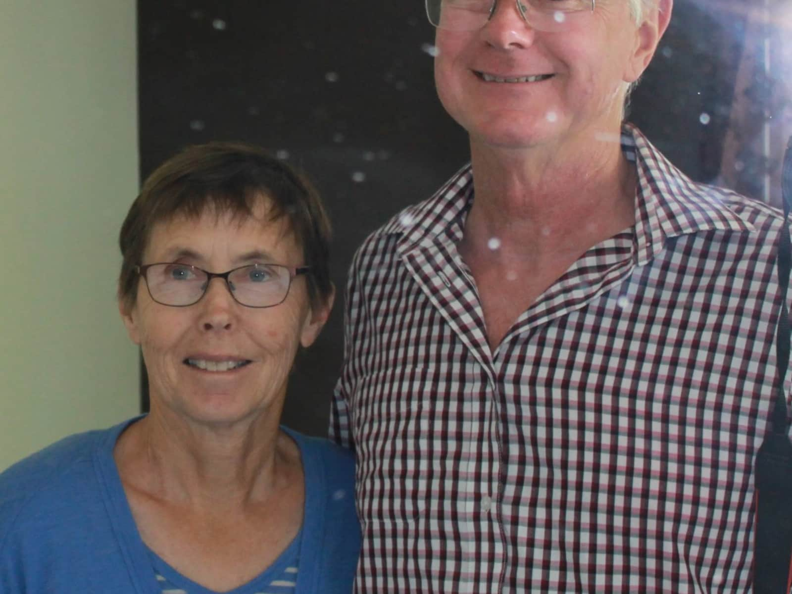 Peter and elaine & Peter from Nelson, New Zealand