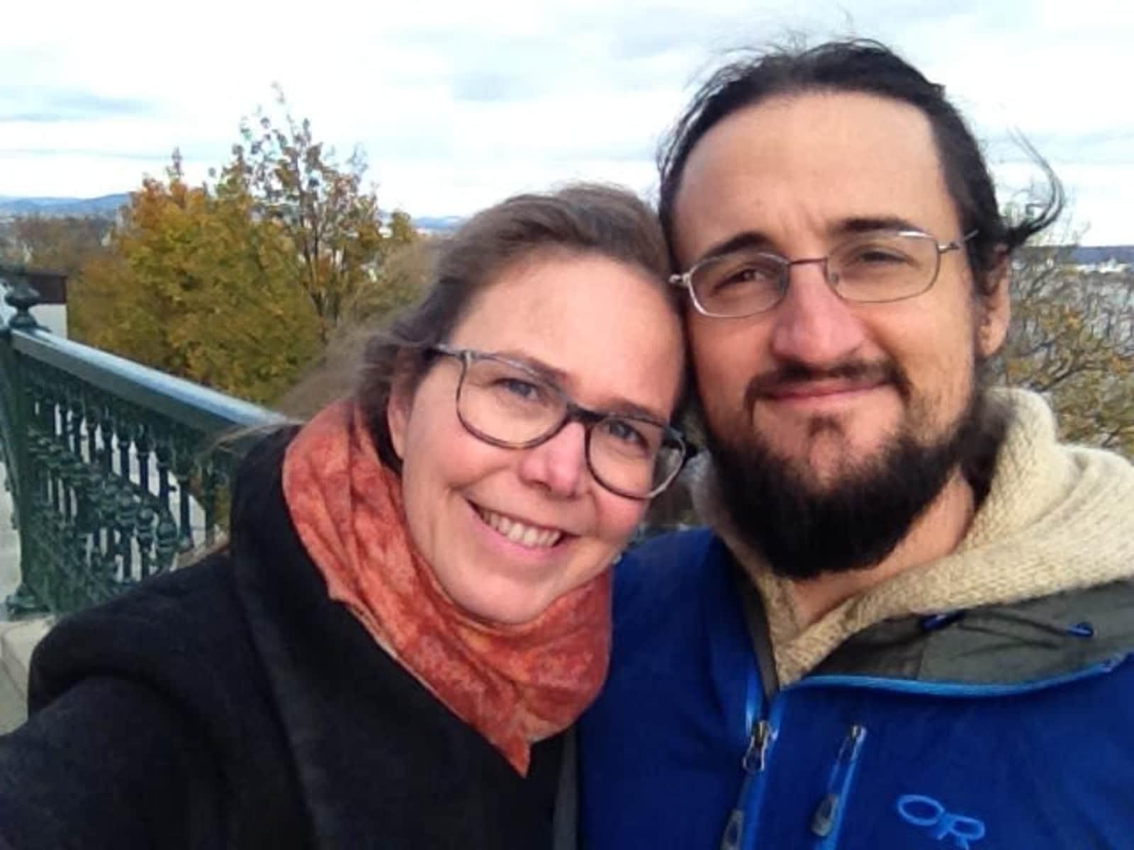 Deborah & Owen from Victoria, British Columbia, Canada