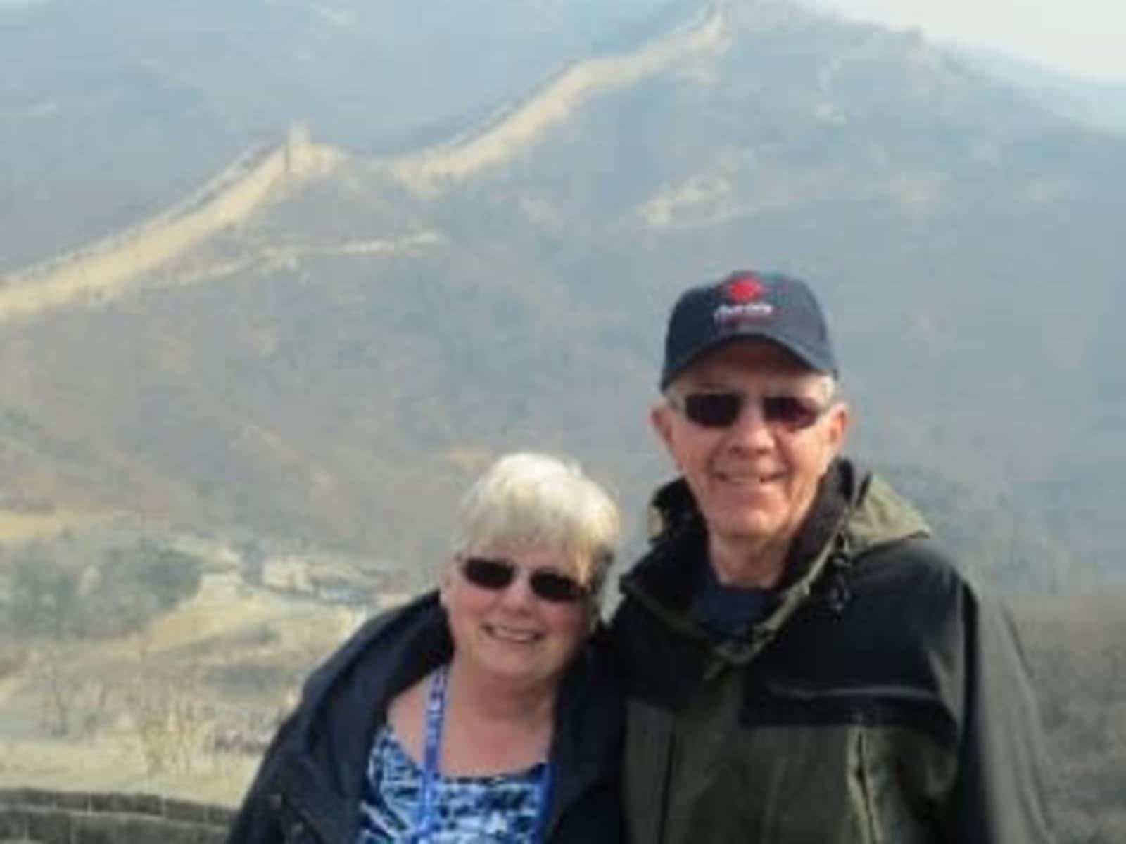 Evelyn & Michael from Edmonton, Alberta, Canada