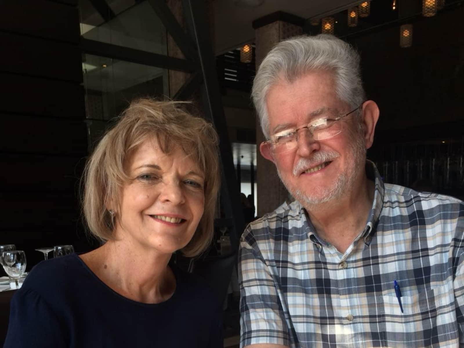 Hans & Caroline from Epsom, United Kingdom