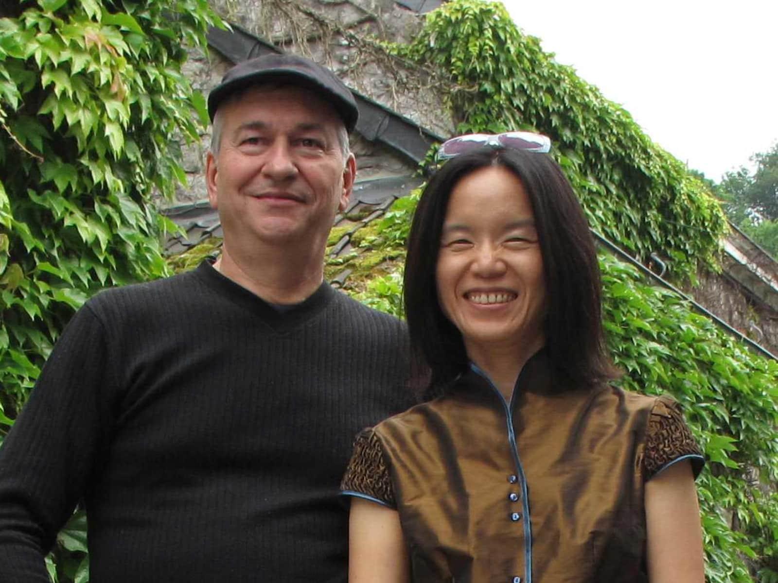 Marc & Sue wen from Sandstone Point, Queensland, Australia