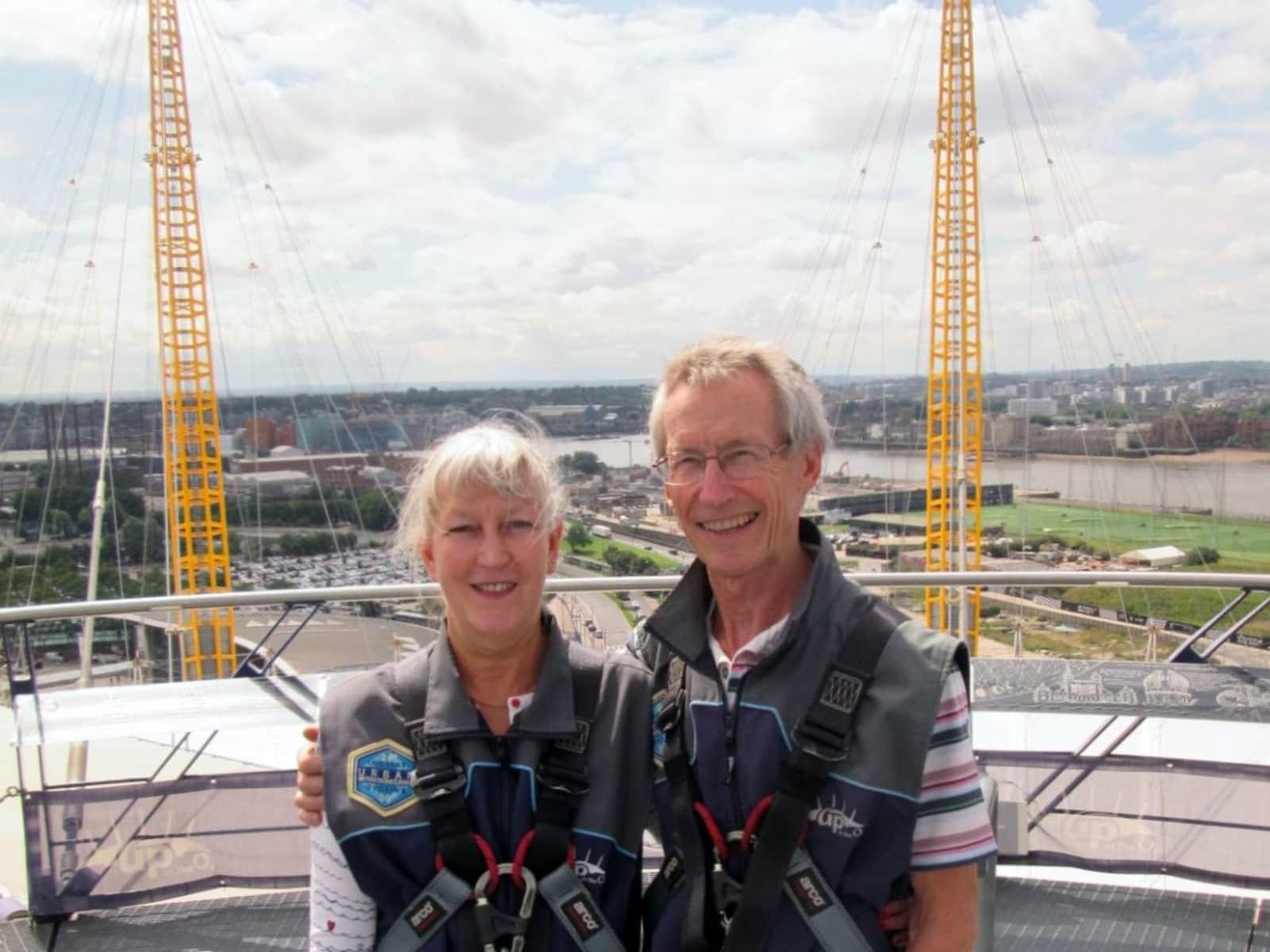 Brian & Alyxandra from Camberley, United Kingdom