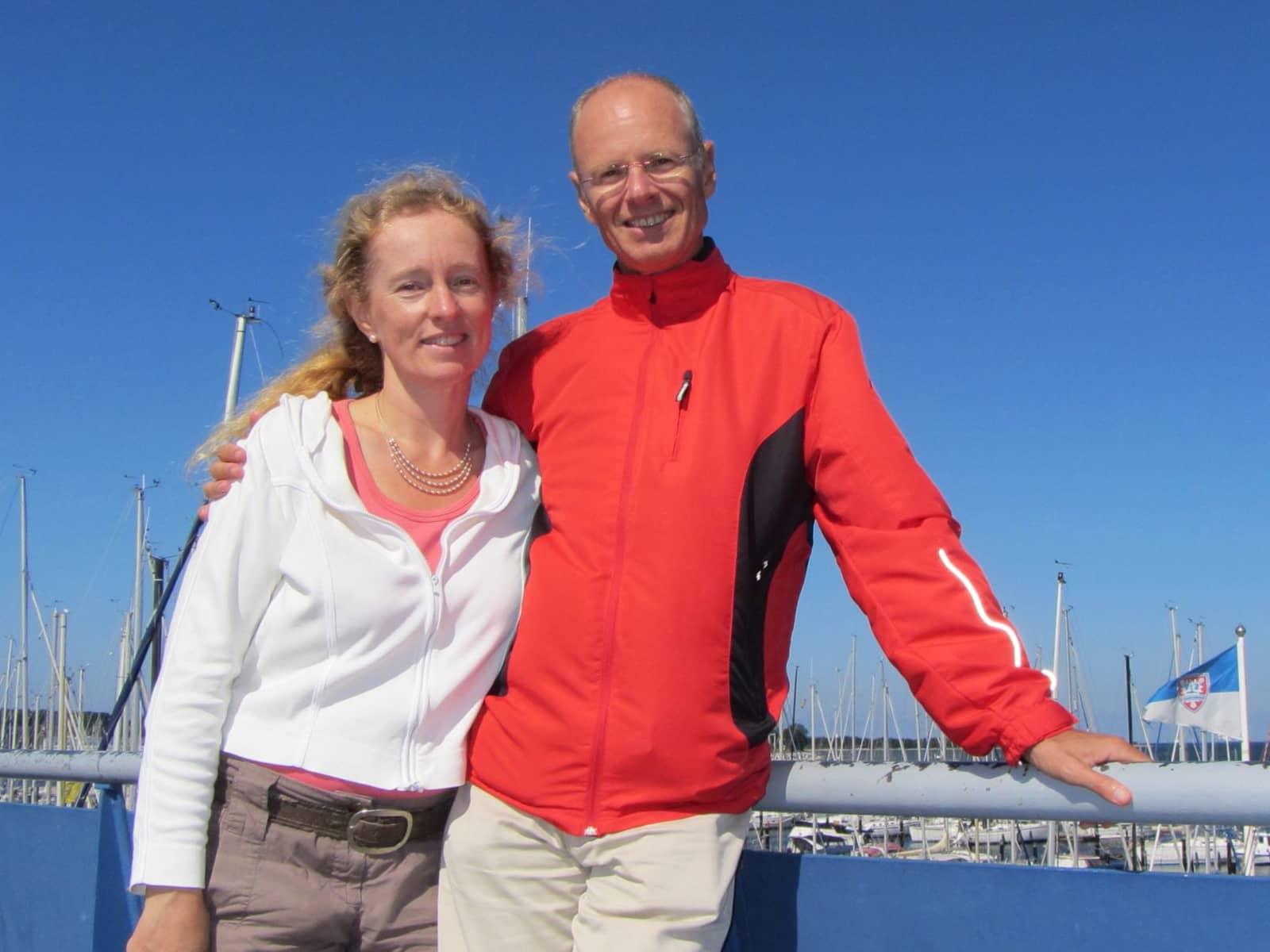 Andrea & Bernd from Frankfurt am Main, Germany
