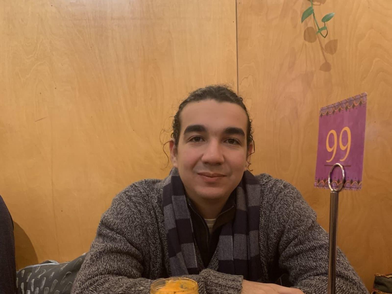 Adam from Boston, Massachusetts, United States