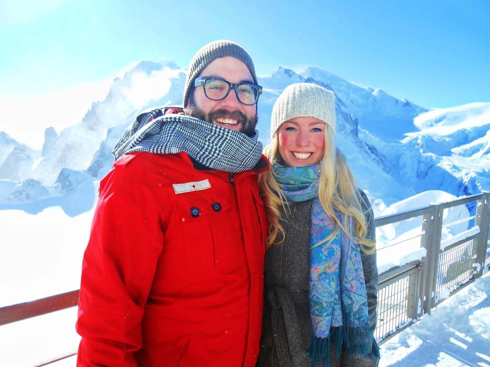 Robyn & Michael from Banff, Alberta, Canada