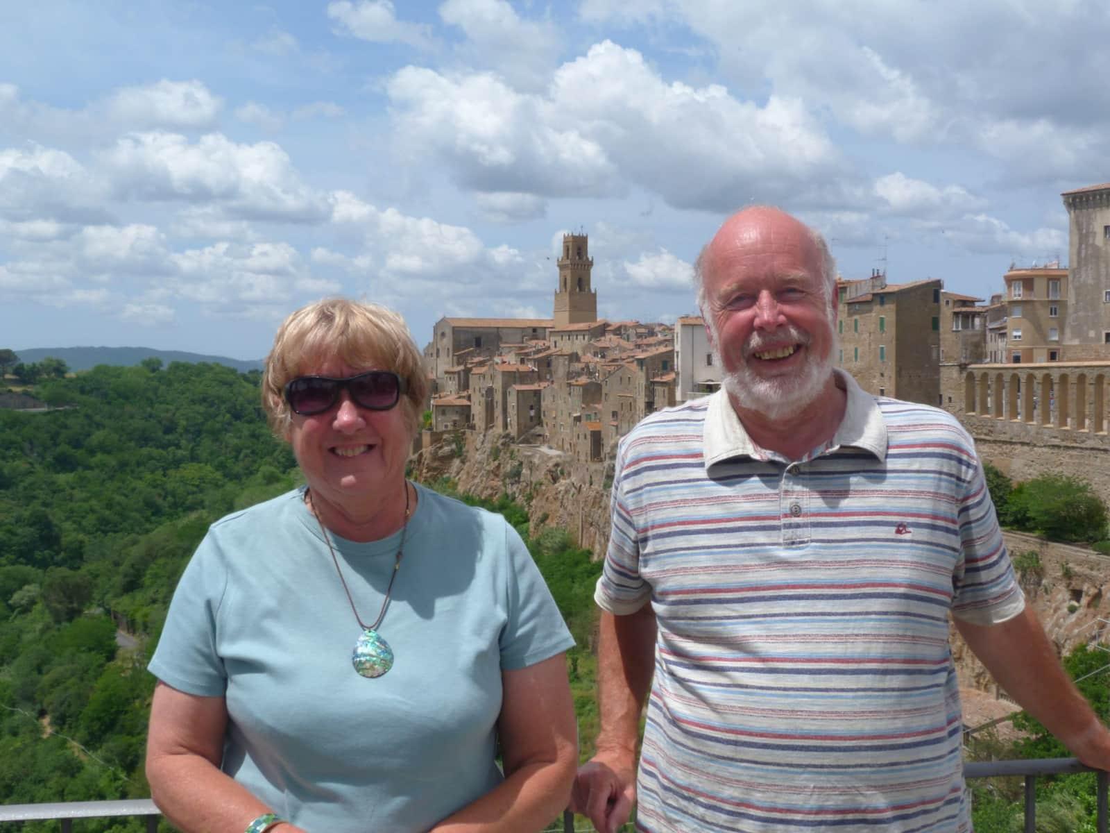 Judith & Peter from Cornworthy, United Kingdom