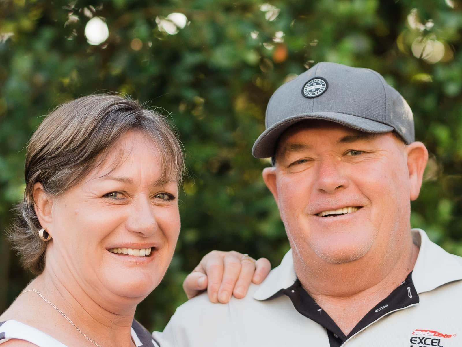 Fiona & Phil from Brisbane, Queensland, Australia