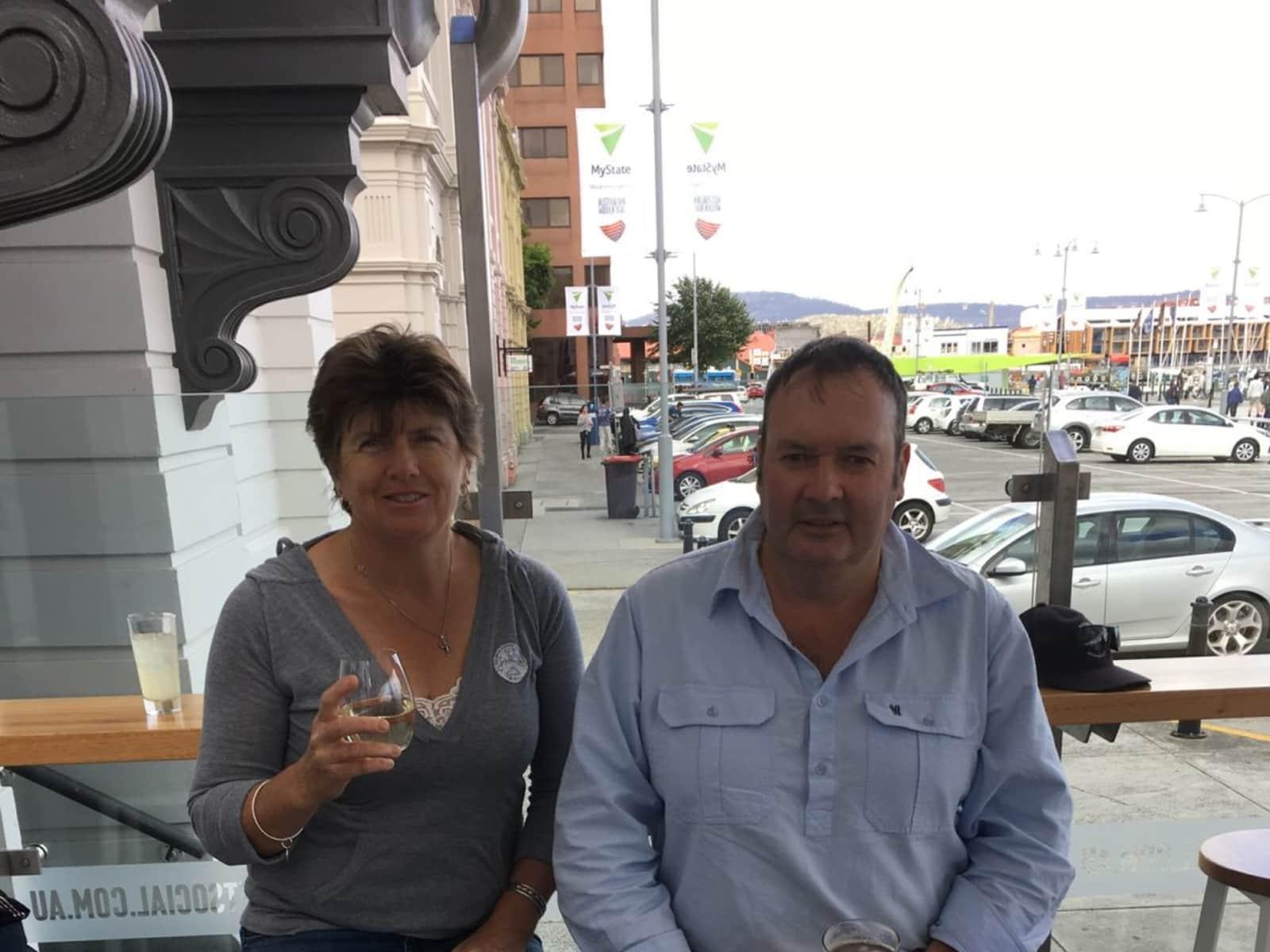Karen & Barry from Kingscote, South Australia, Australia