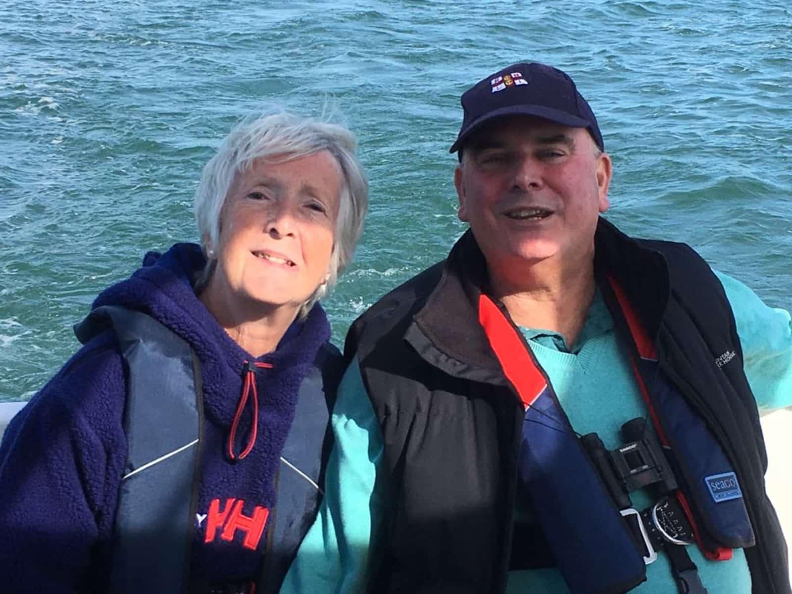 Margaret & Brendon from Ashtead, United Kingdom