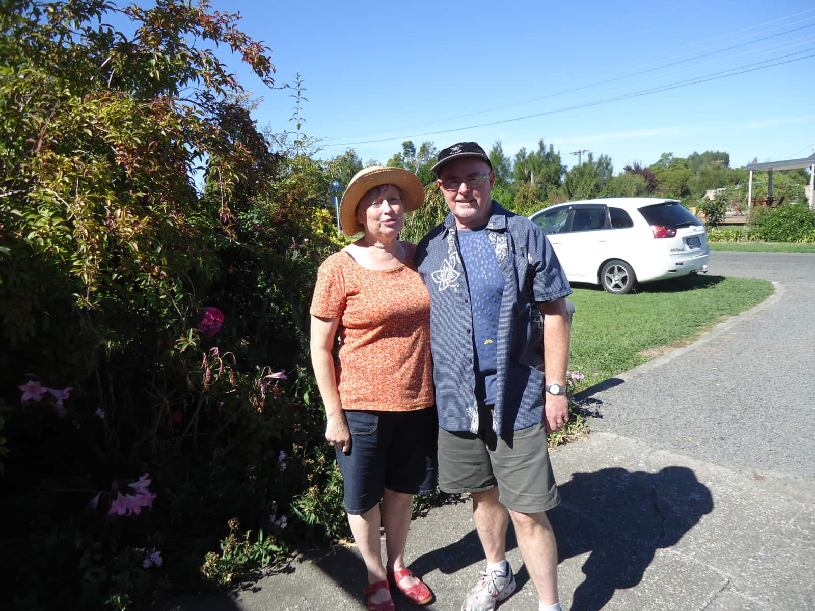 Christine & Terry from Trentham, New Zealand