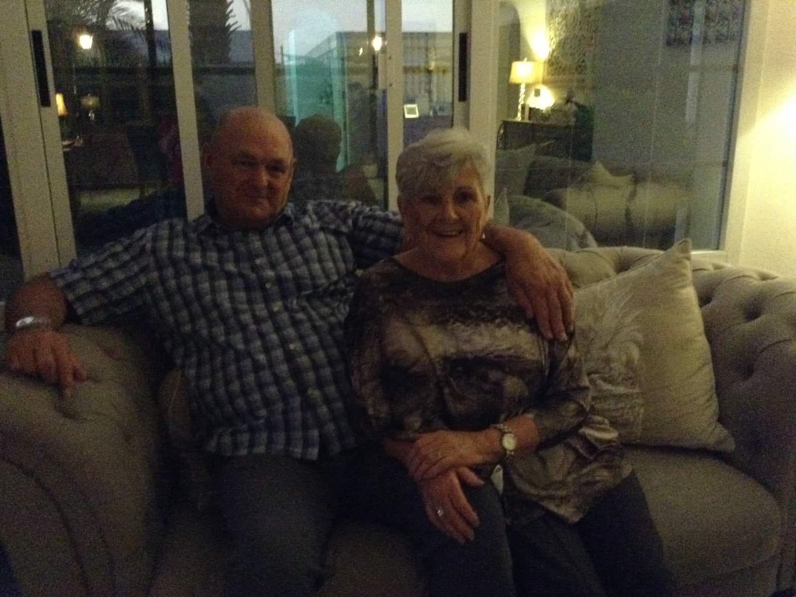 Joyce & Doug from Perth, Western Australia, Australia