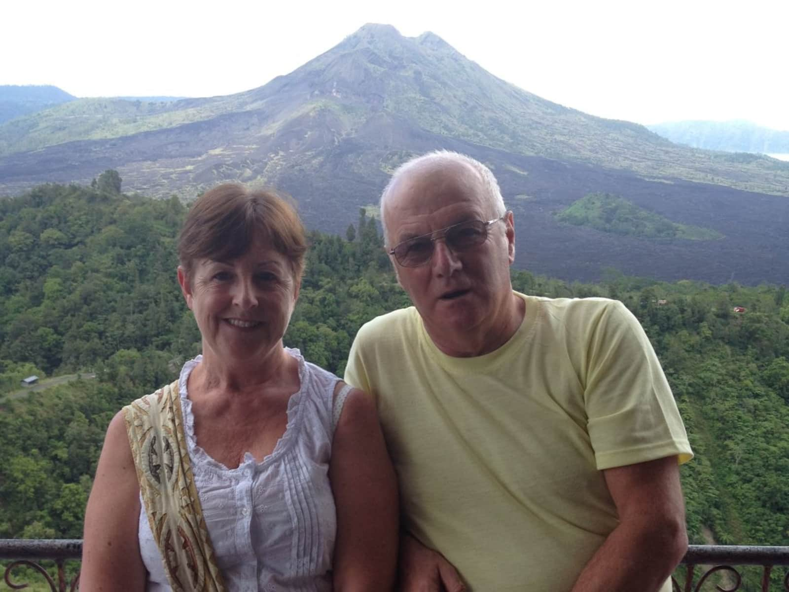 Susan & Stephen from Halifax, United Kingdom