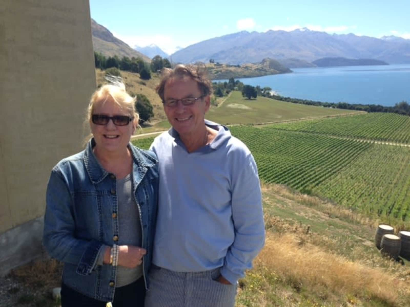 Todd & Kaye mary anne from New Zealand