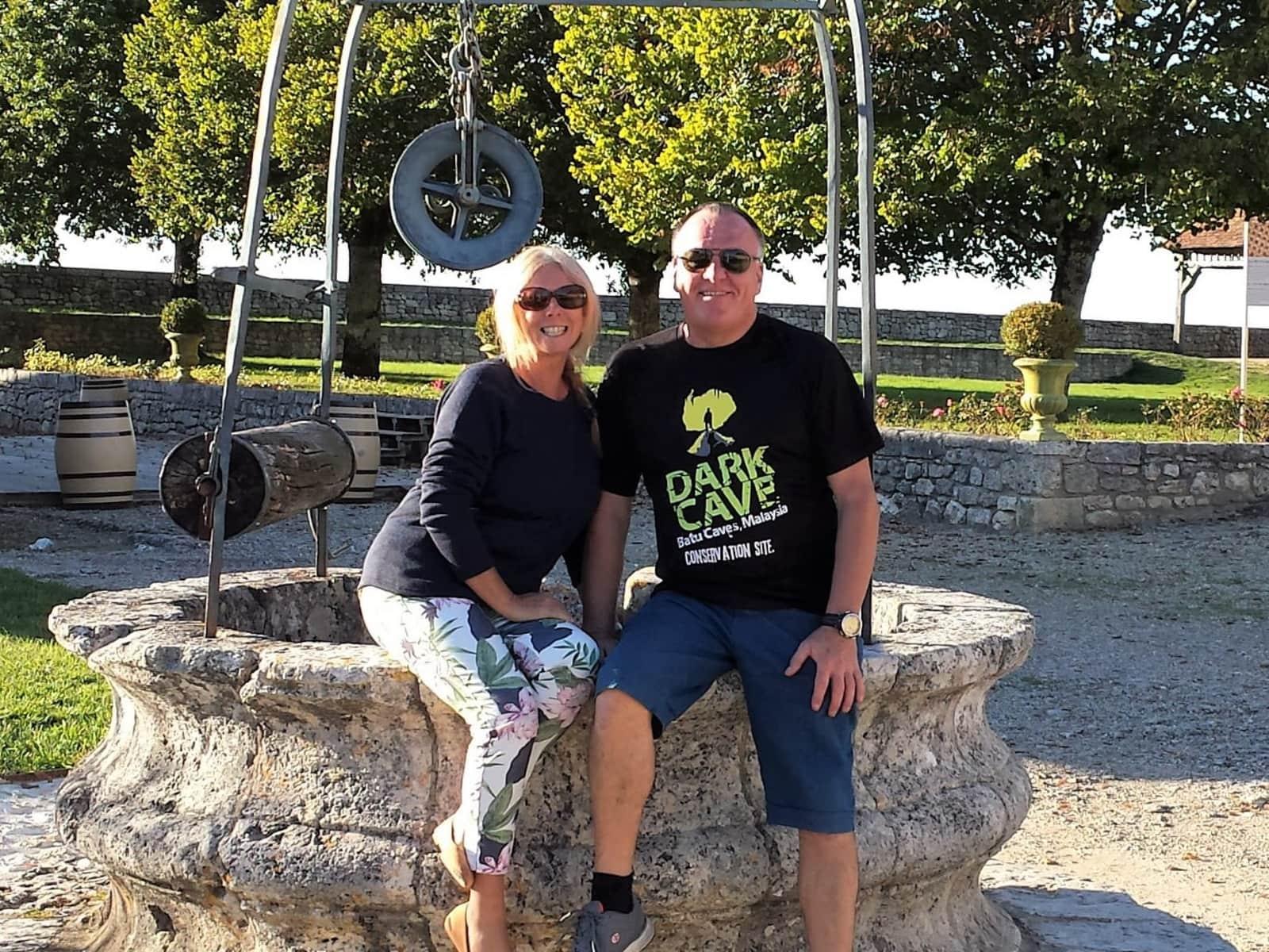 Janice & James from Edinburgh, United Kingdom