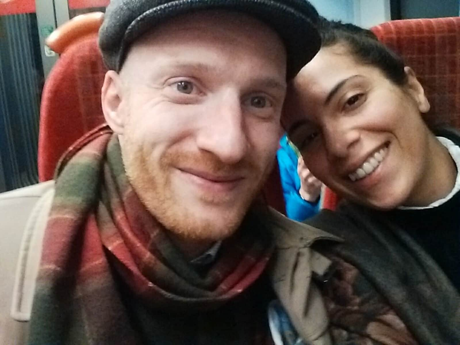 Jasmine & Alex from Surbiton, United Kingdom
