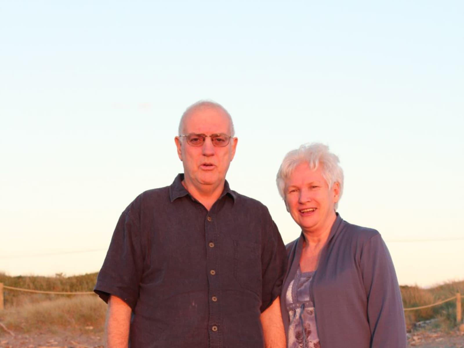 Graham & Kay from Bateau Bay, New South Wales, Australia