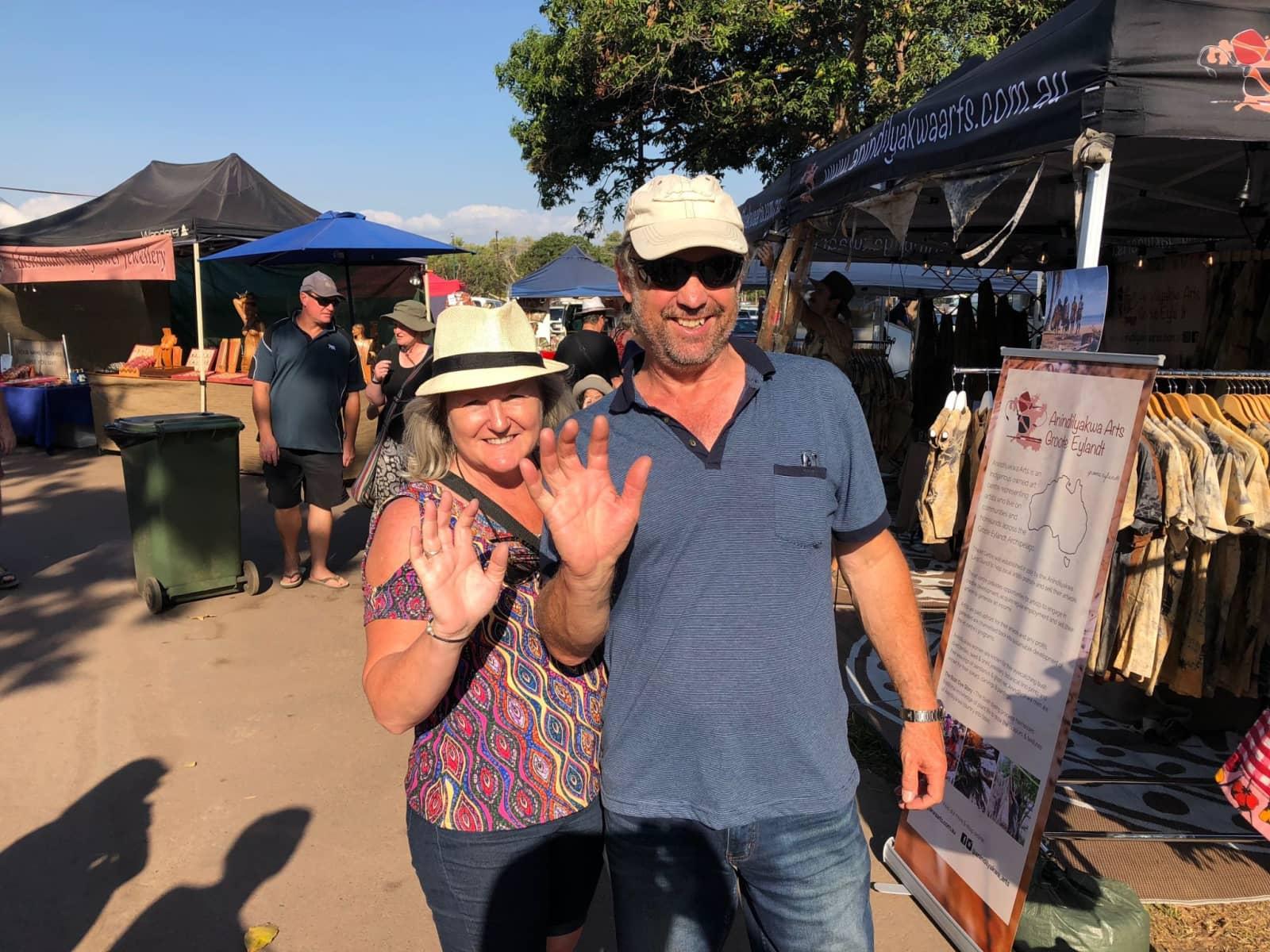 Cathy and ian & Ian from Canberra, Australian Capital Territory, Australia