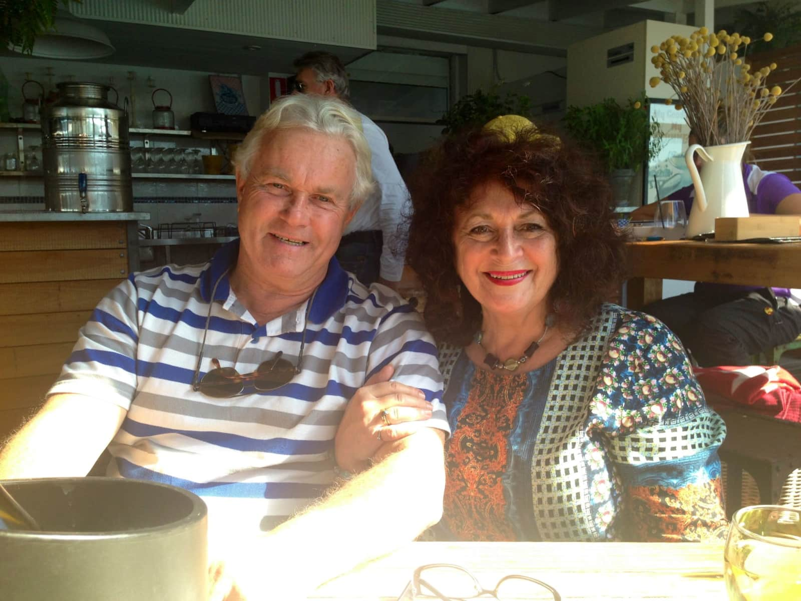 Suzanne m & Michael from Stockton, New South Wales, Australia