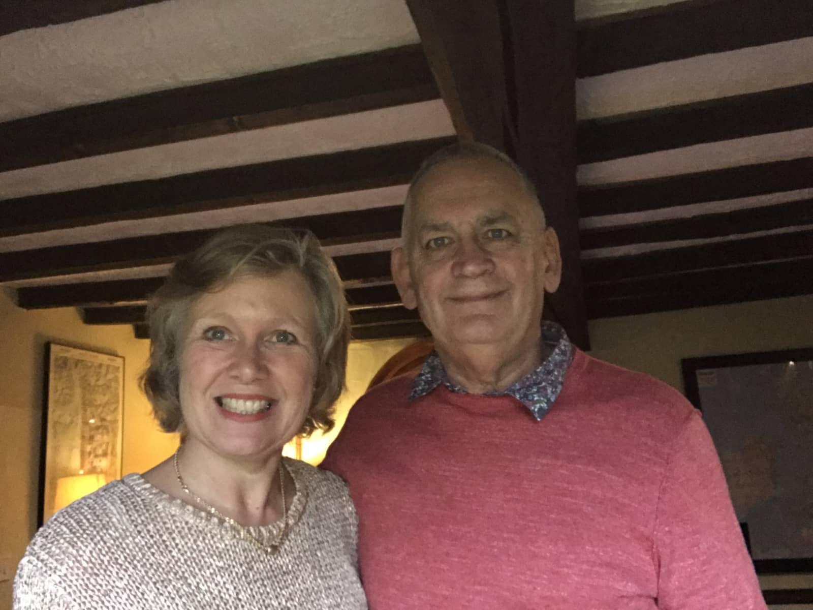 Peter & Sarah from Brampton, United Kingdom