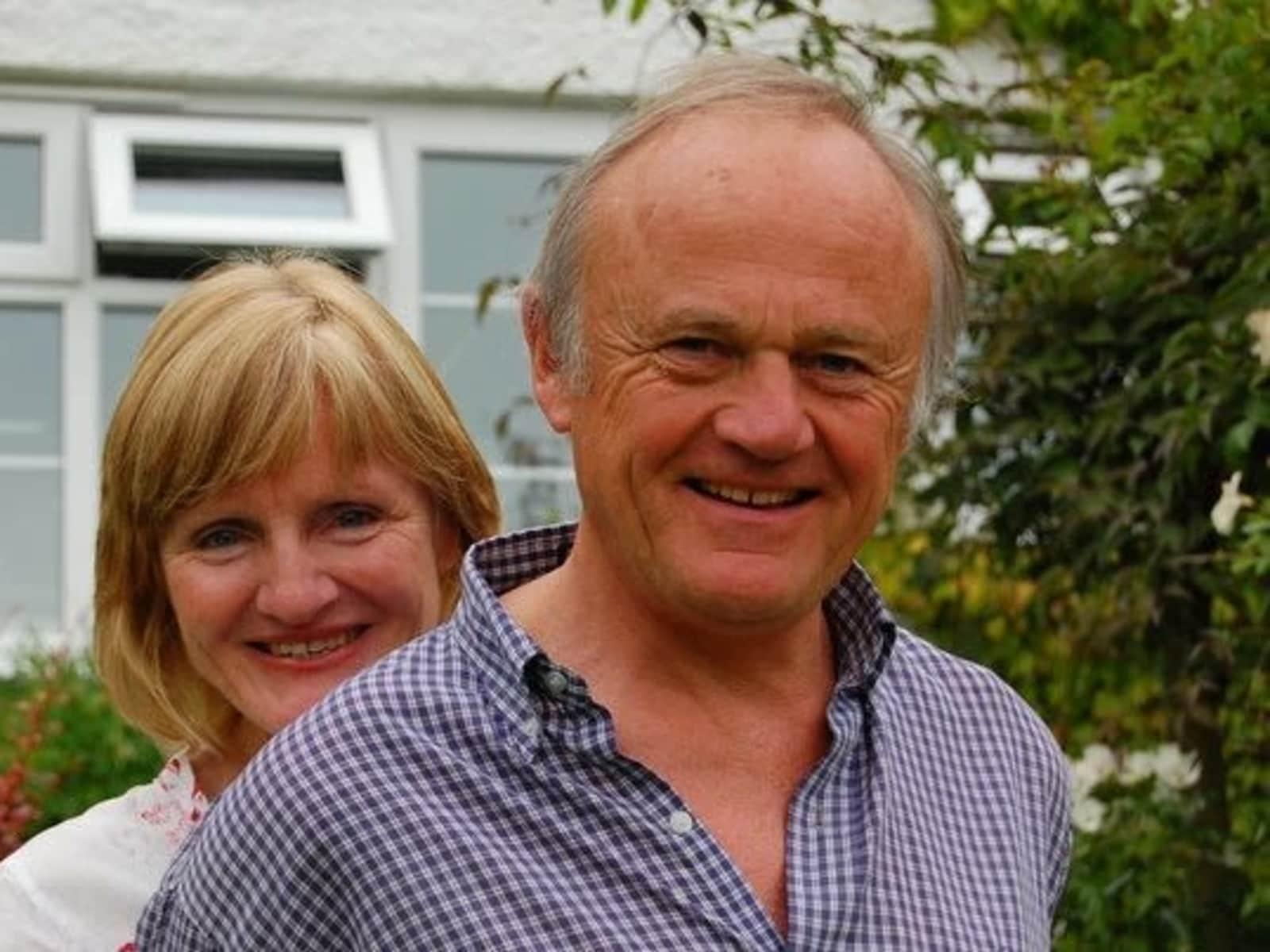 Jo & James from Masterton, New Zealand