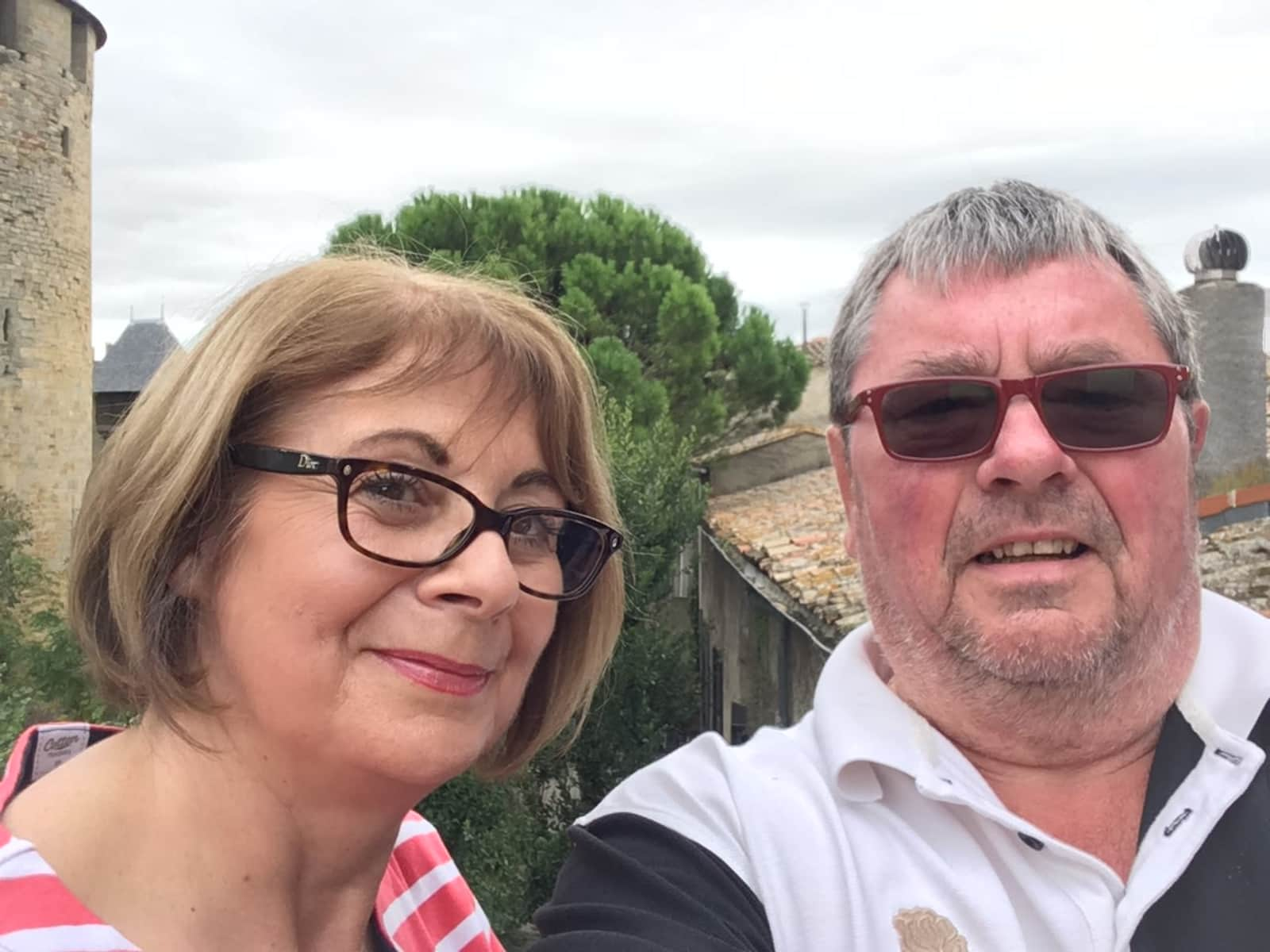 Paul & Barbara from Bagnoles-de-l'Orne, France