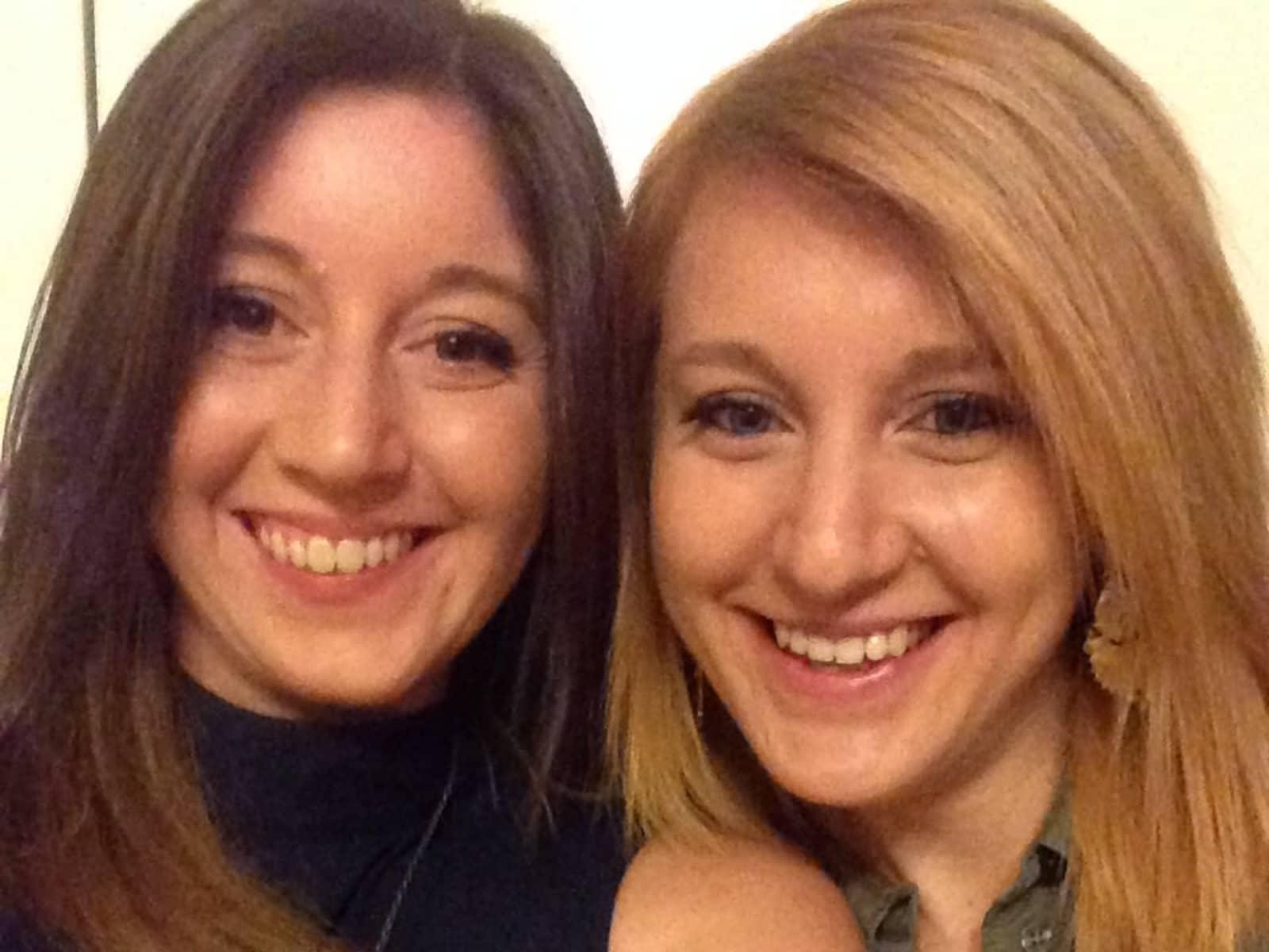 Marlene & Susanne from Graz, Austria