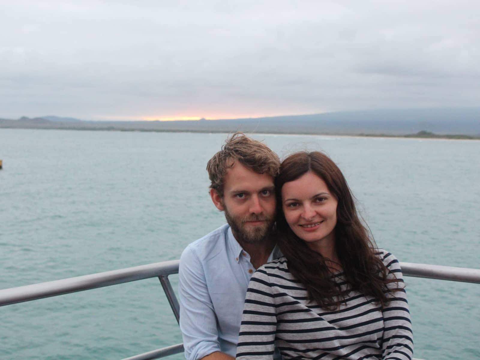 Naomi & Oliver from London, United Kingdom