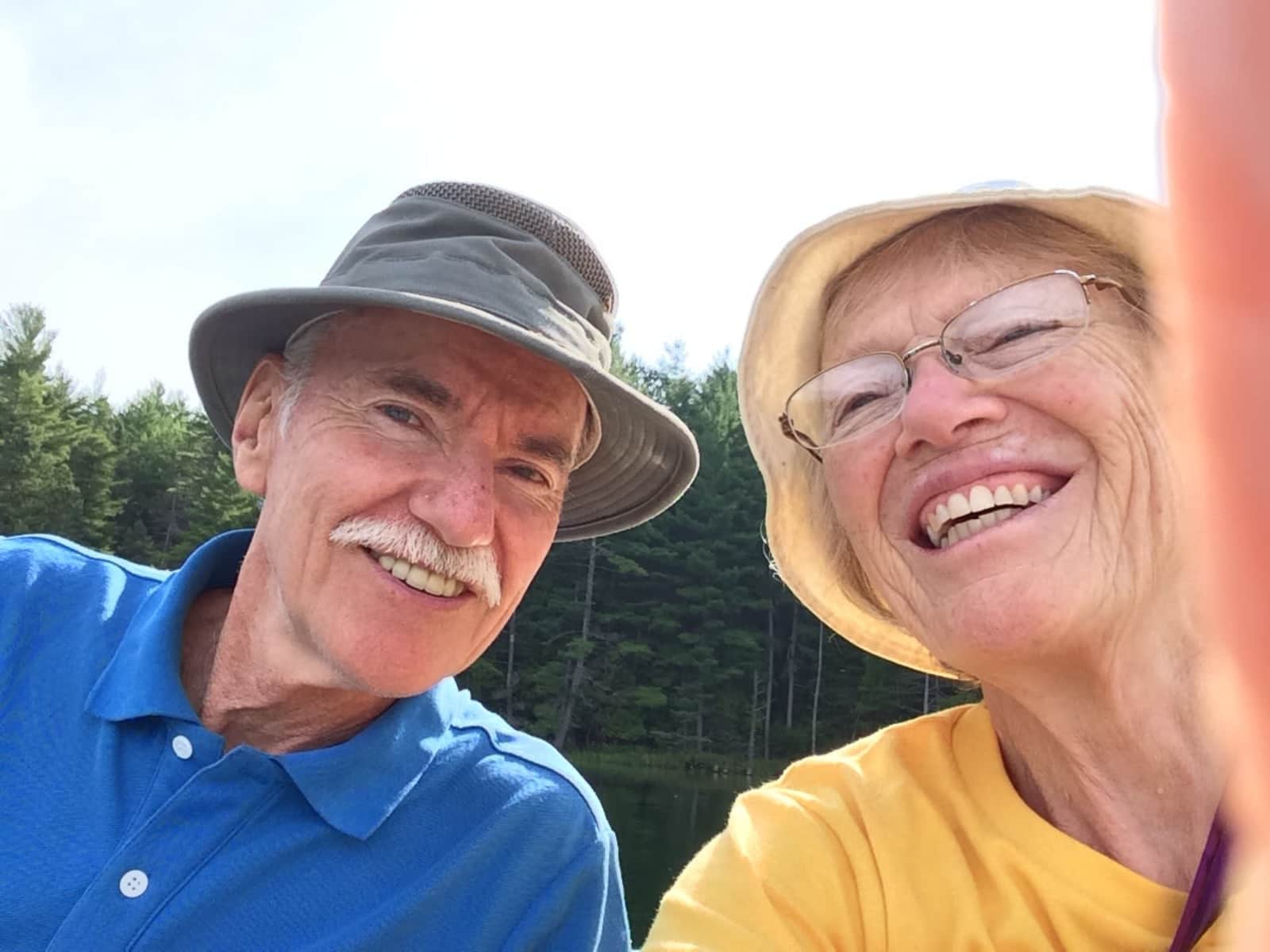 Beth & Norris from West Guilford, Ontario, Canada