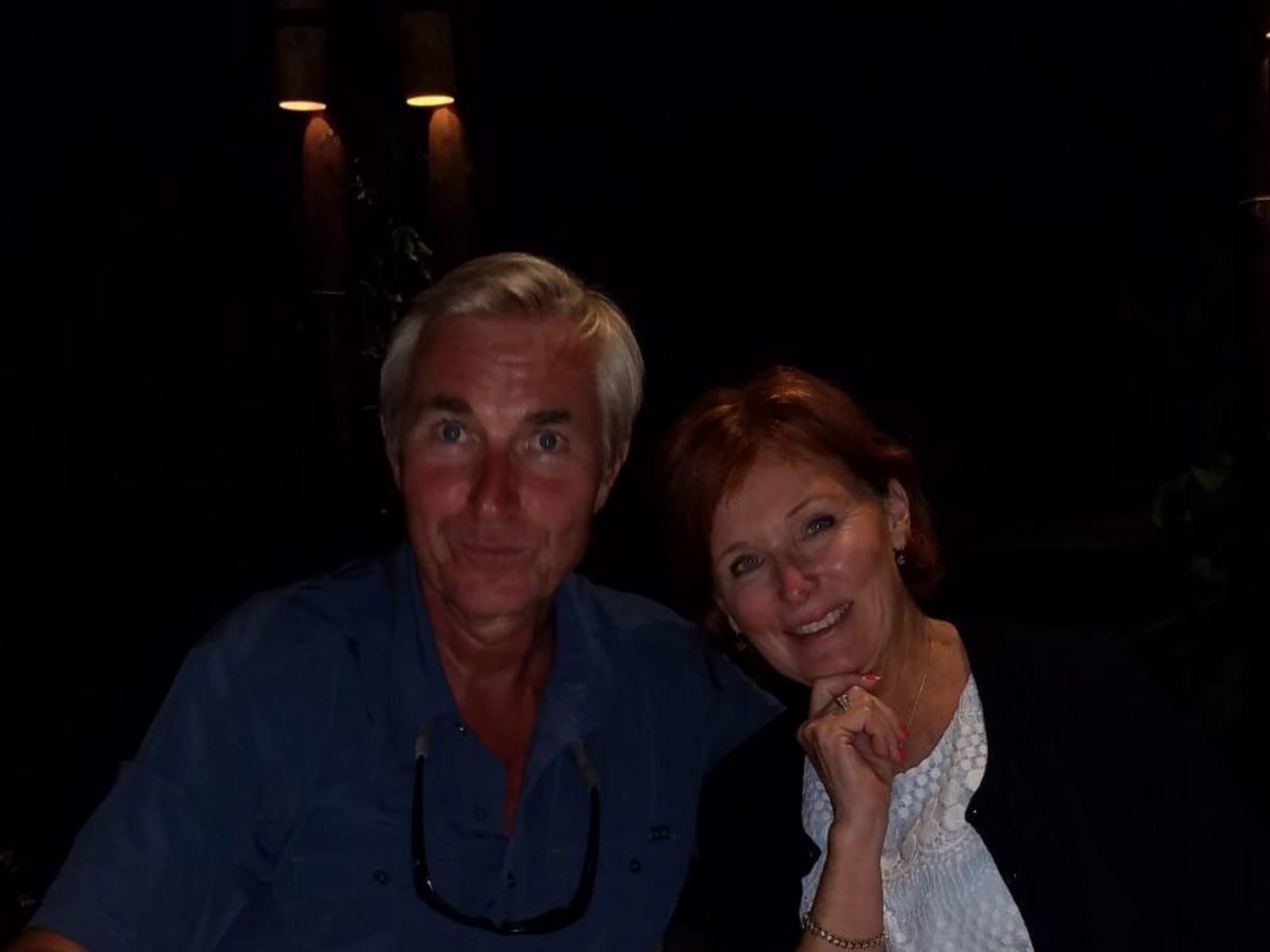 Sue & Fredrik from Seattle, Washington, United States