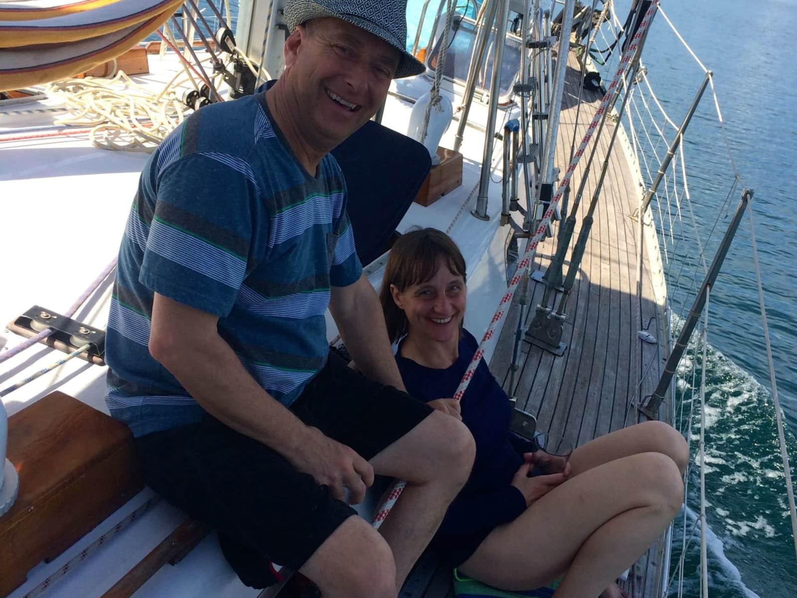 Theresa & Ken from San Francisco, California, United States