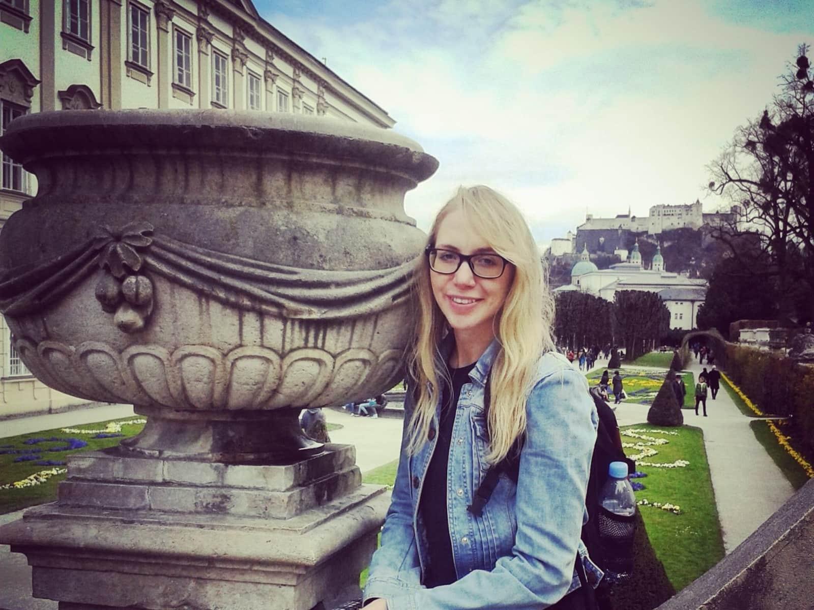 Rebecca from Cambridge, United Kingdom