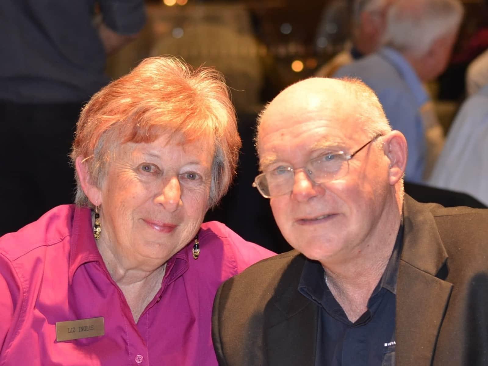 Elisabeth & Hugh from Thirroul, New South Wales, Australia