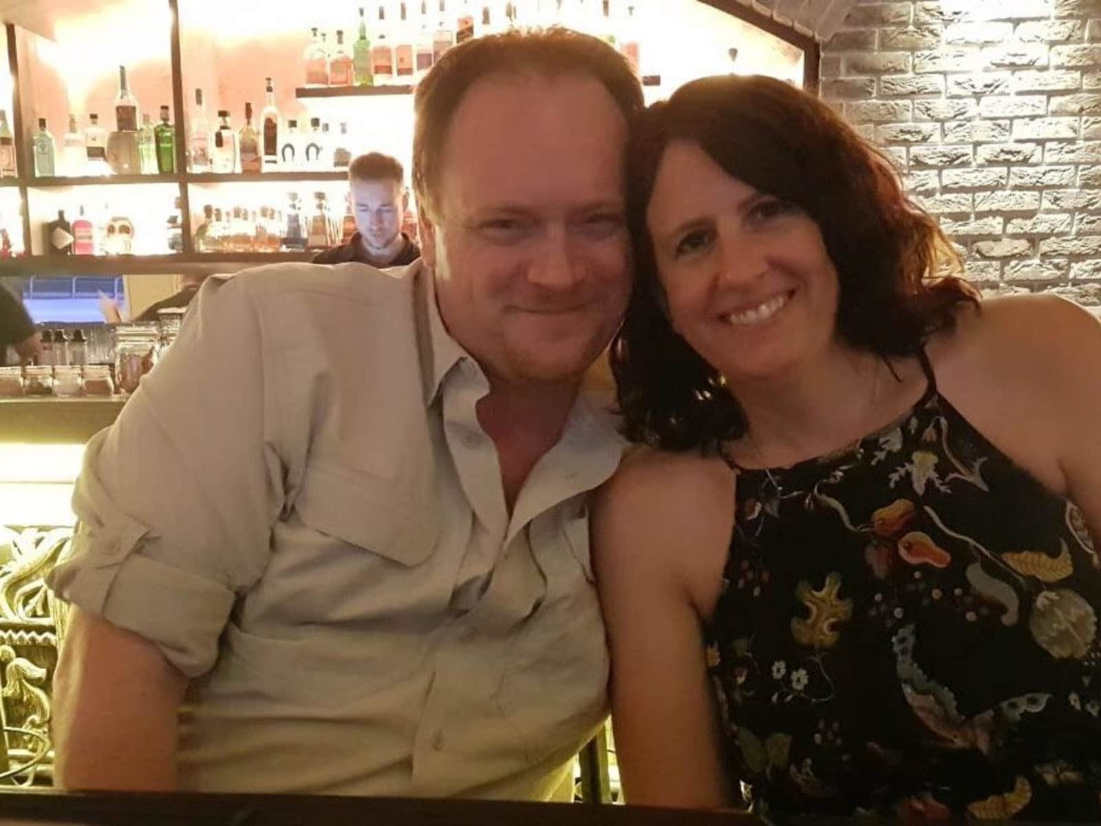 Iain & Michelle from West Dereham, United Kingdom