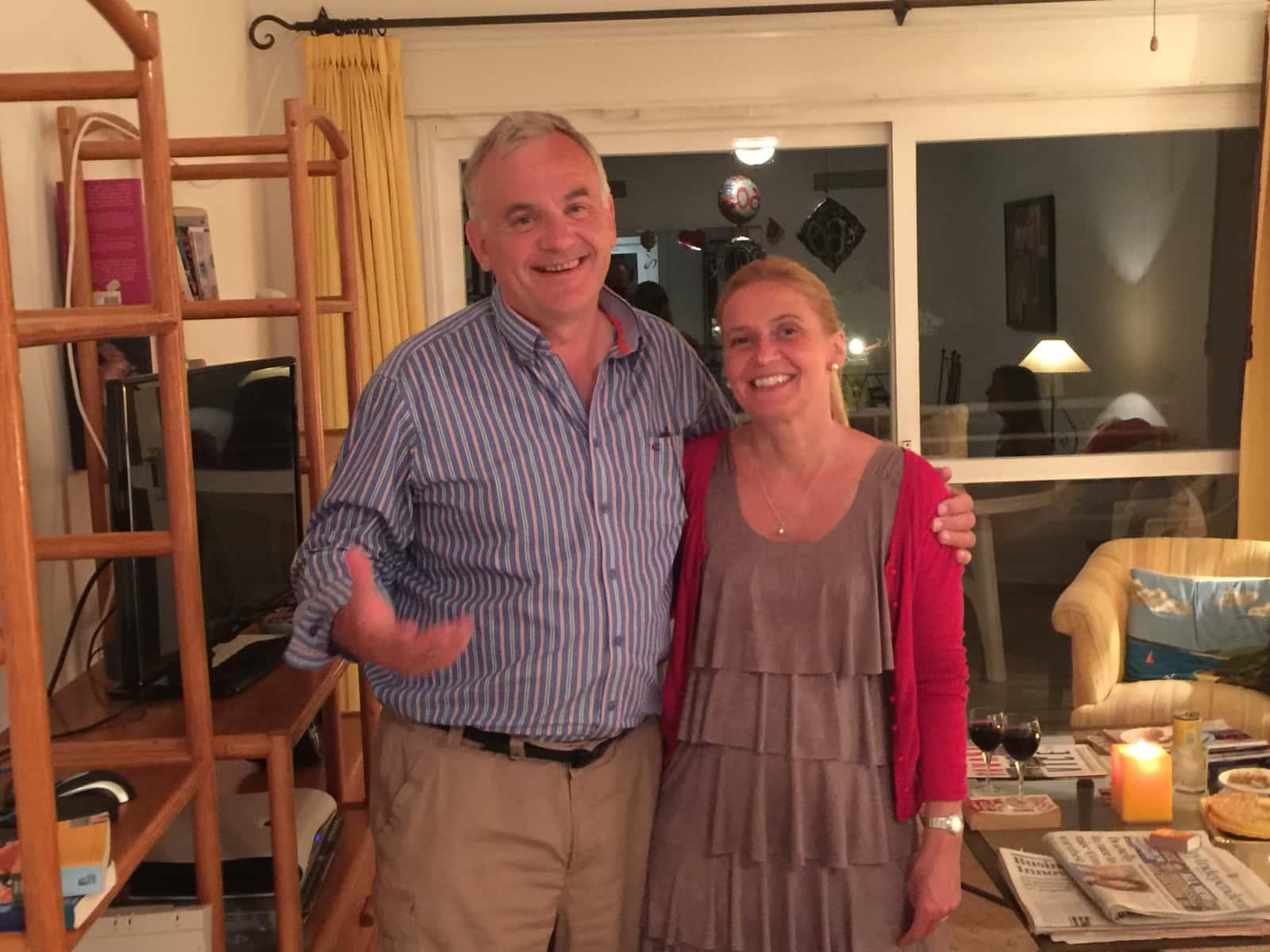 Uta johanne & Bryan from Wicklow, Ireland