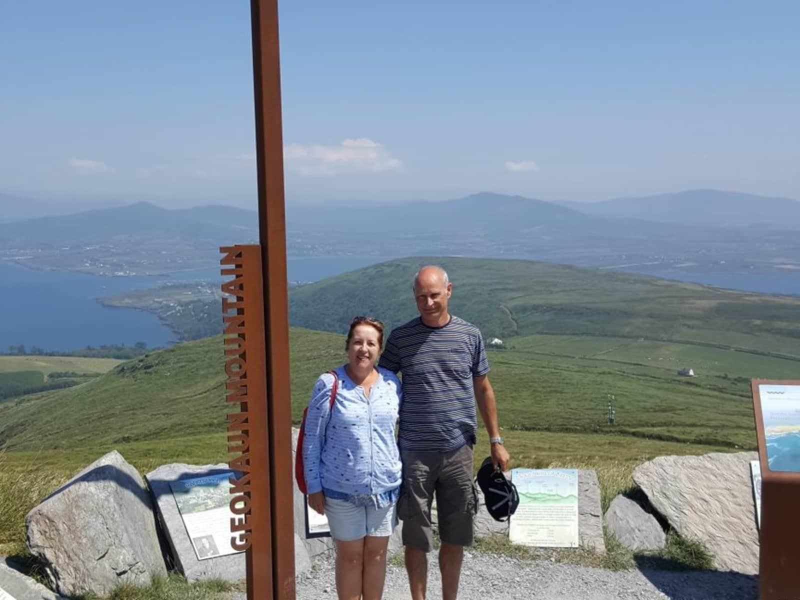 Michaela & John from Dromahair, Ireland